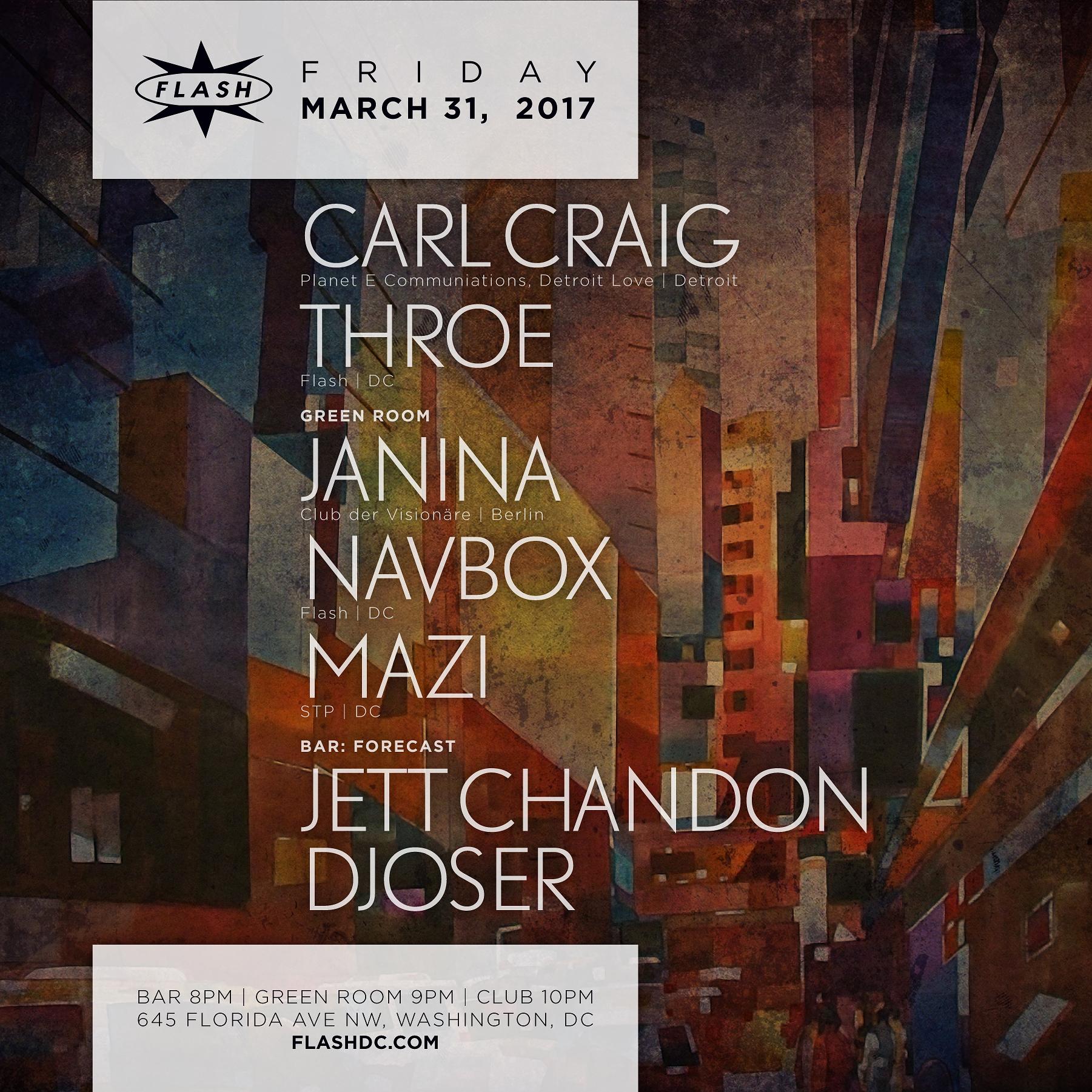 Carl Craig event thumbnail