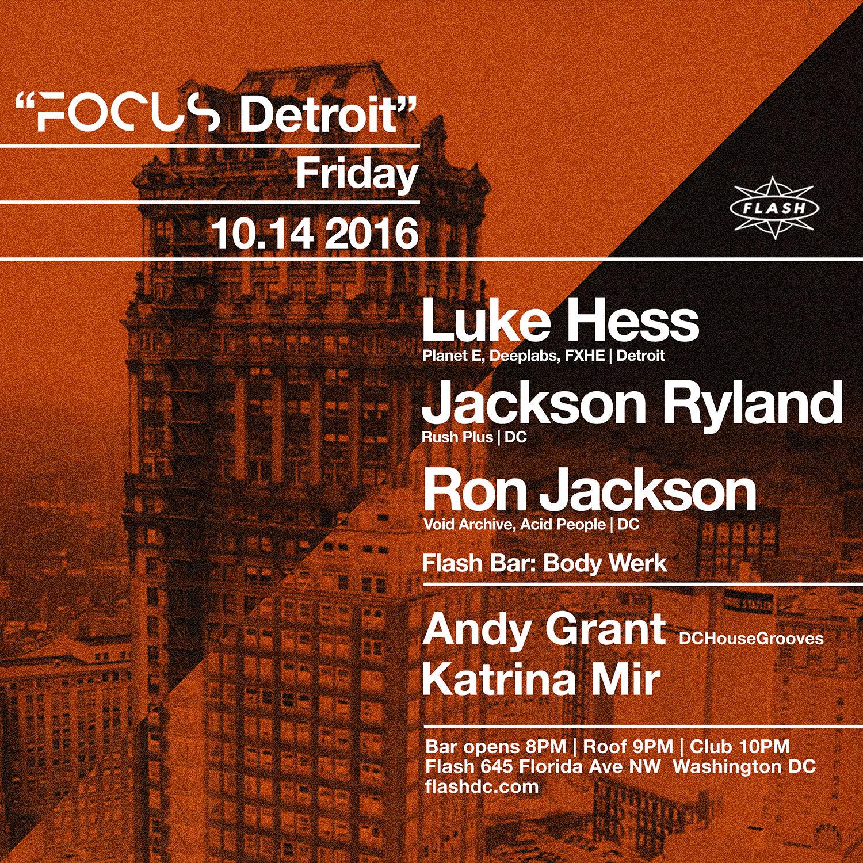 FOCUS: Detroit w/ Luke Hess event thumbnail