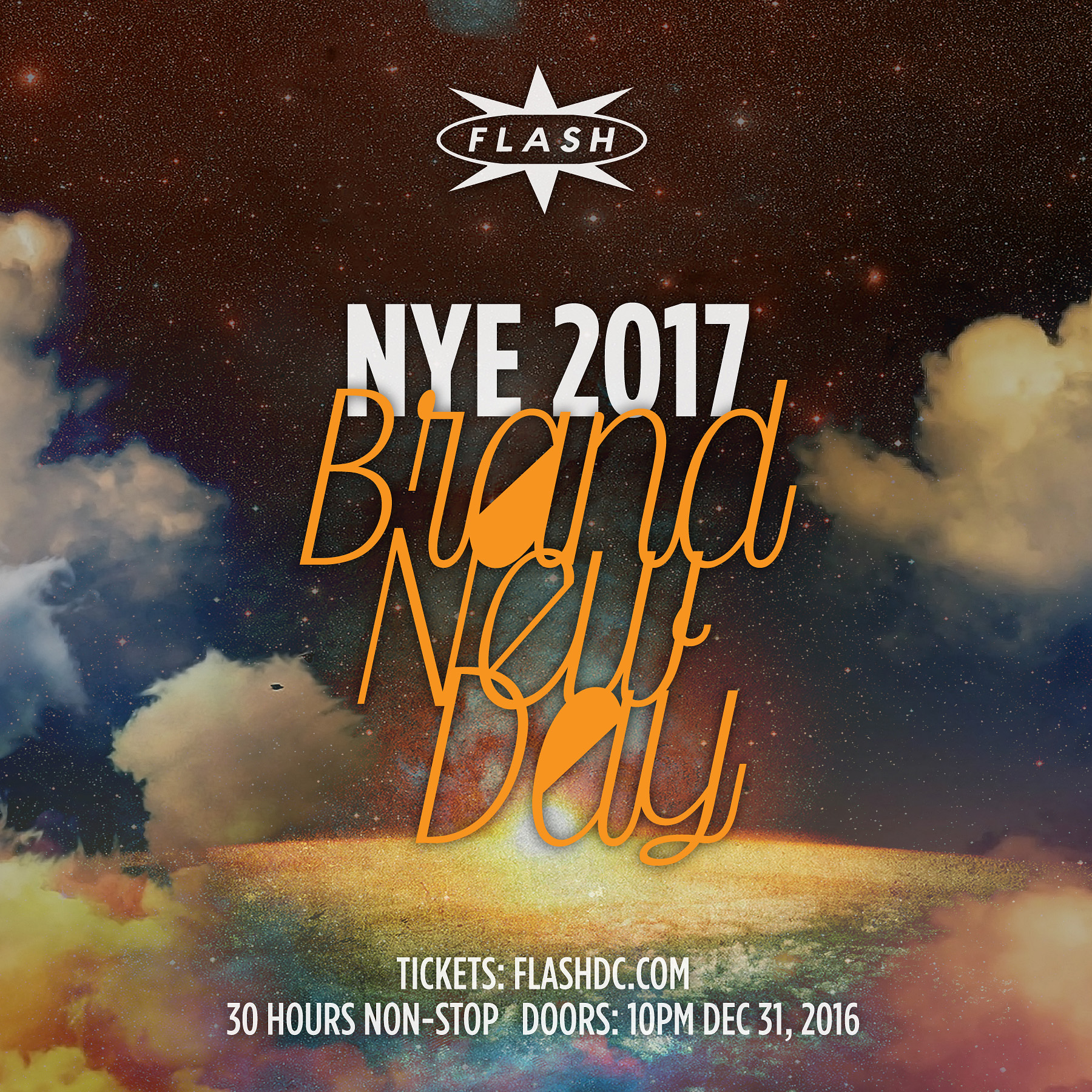 Flash NYD 2017: Brand New Day event thumbnail