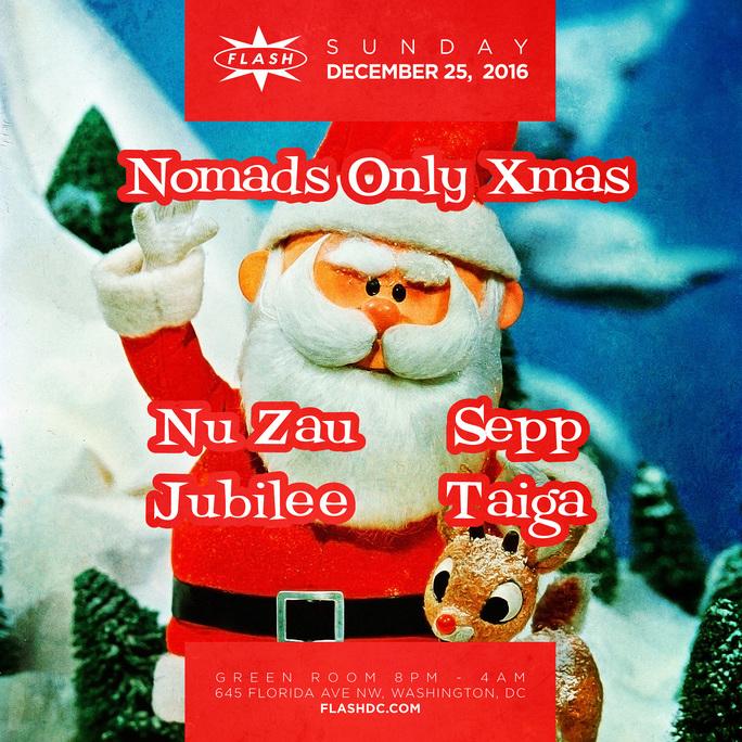 Nomads Only Xmas: Nu Zau & Sepp event thumbnail