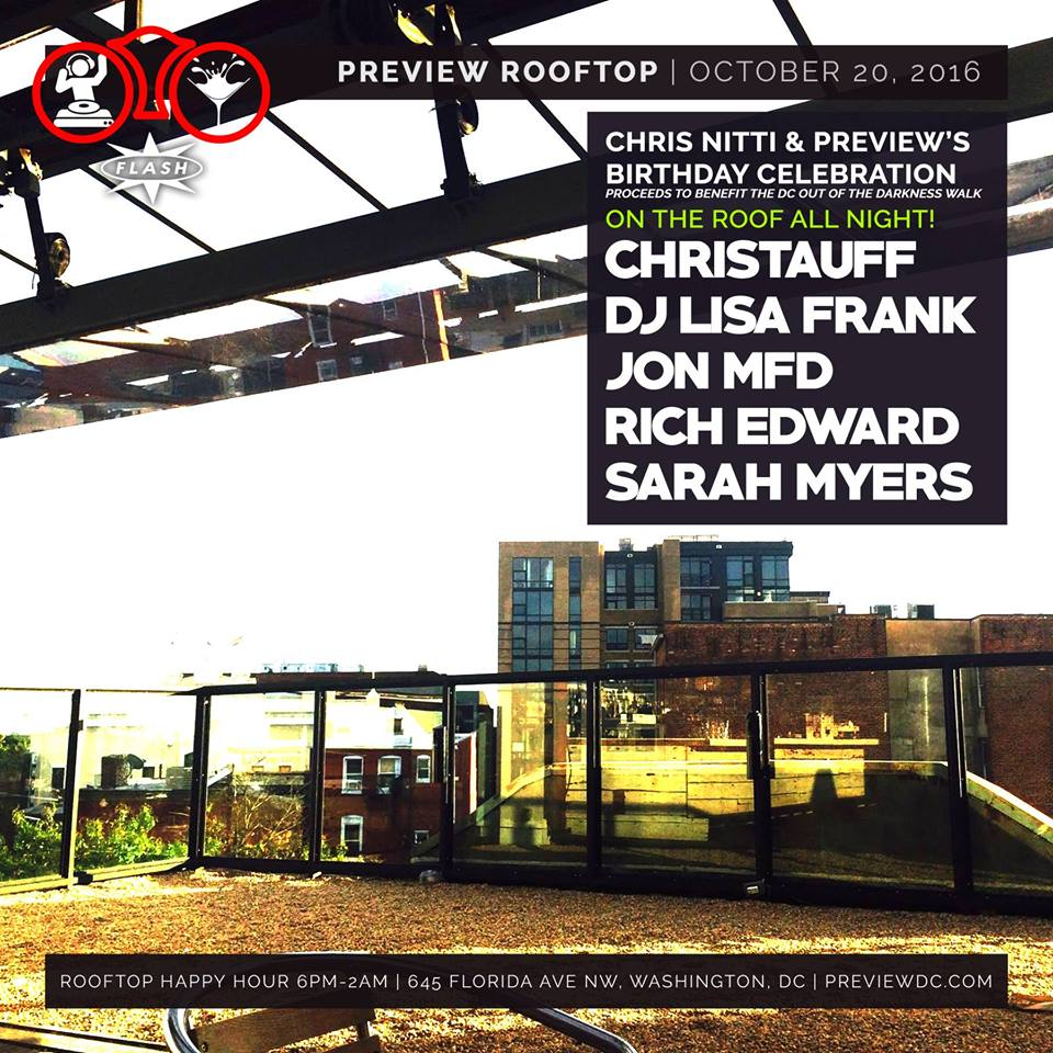 Preview & Chris Nitti's B-Day (Rooftop) event thumbnail