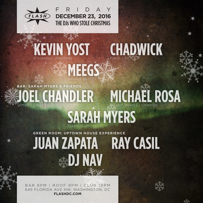 The DJ's Who Stole Xmas w/ Kevin Yost event thumbnail