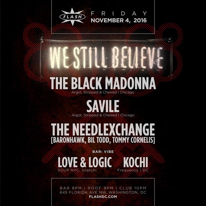 The Black Madonna w/ Savile & The NeedlExchange event thumbnail
