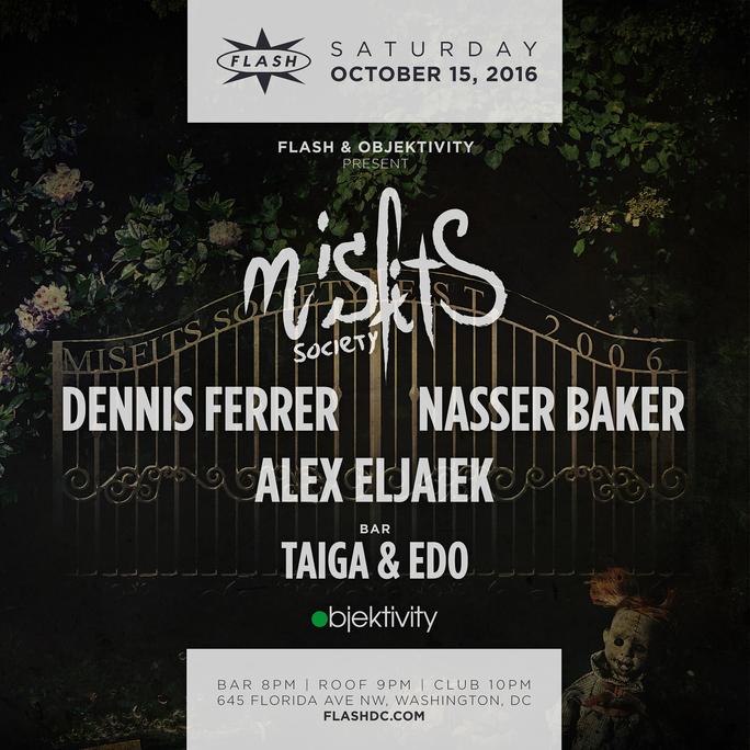 Misfits Society: Dennis Ferrer & Nasser Baker event thumbnail