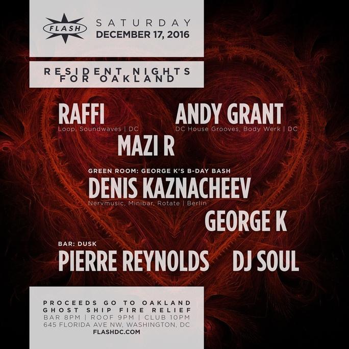 Resident Nights for Oakland + George K Bday ft. Denis Kaznacheev event thumbnail