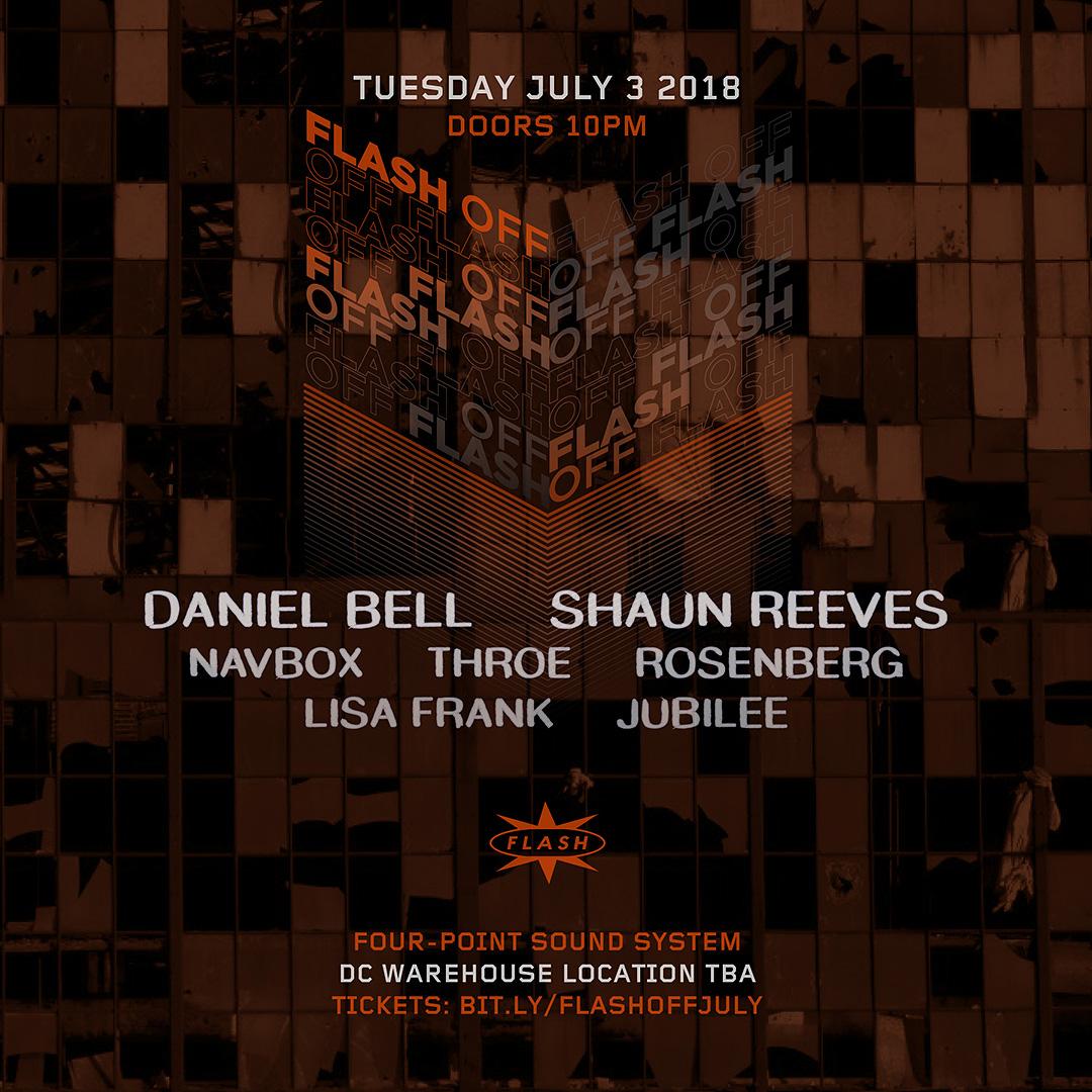 Flash [OFF]: Daniel Bell - Shaun Reeves event thumbnail