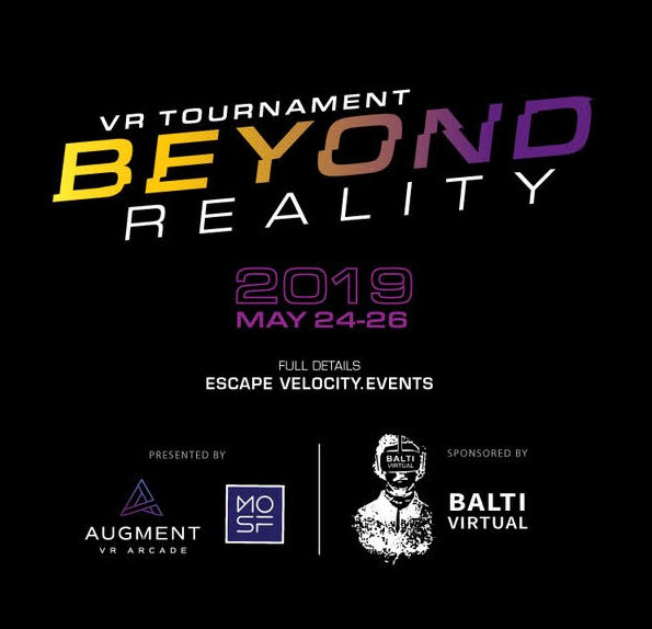 "VR Tournament — ""Beyond Reality"" @ Escape Velocity event thumbnail"