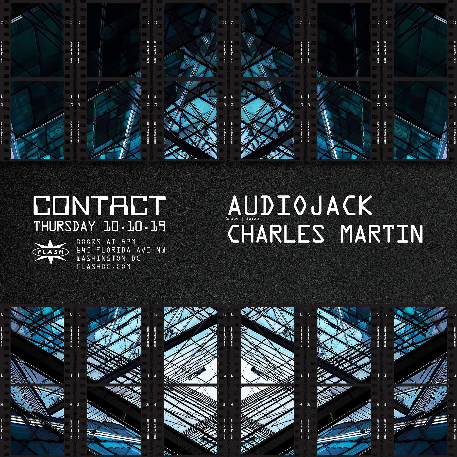 CONTACT: Audiojack event thumbnail
