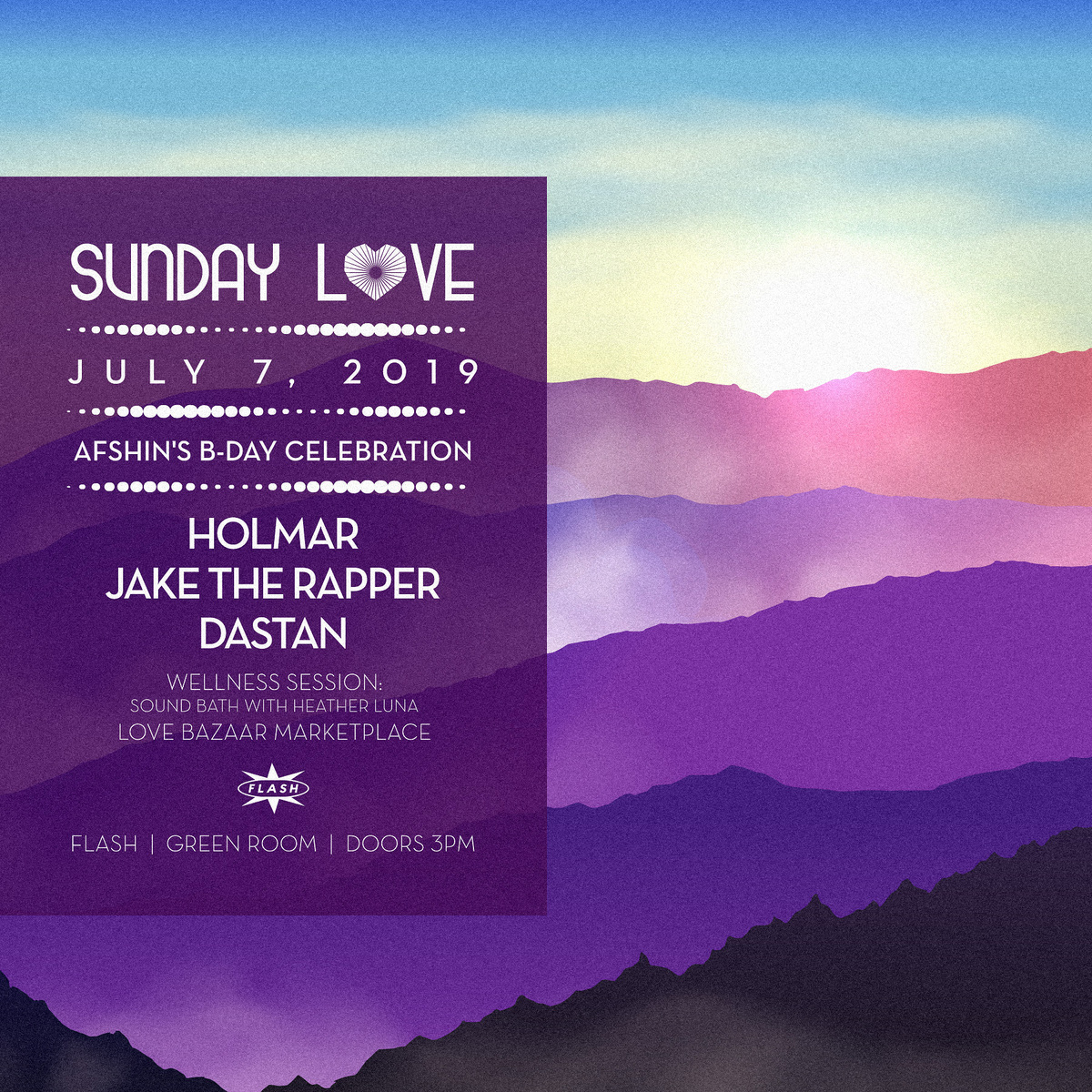 Sunday Love: Holmar - Jake the Rapper - Dastan event thumbnail