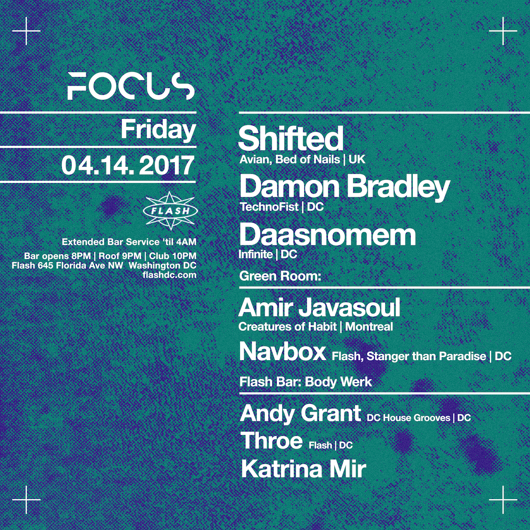 FOCUS: Shifted, Damon Bradley, Daasnomem; Stranger Than Paradise; Body Werk event thumbnail
