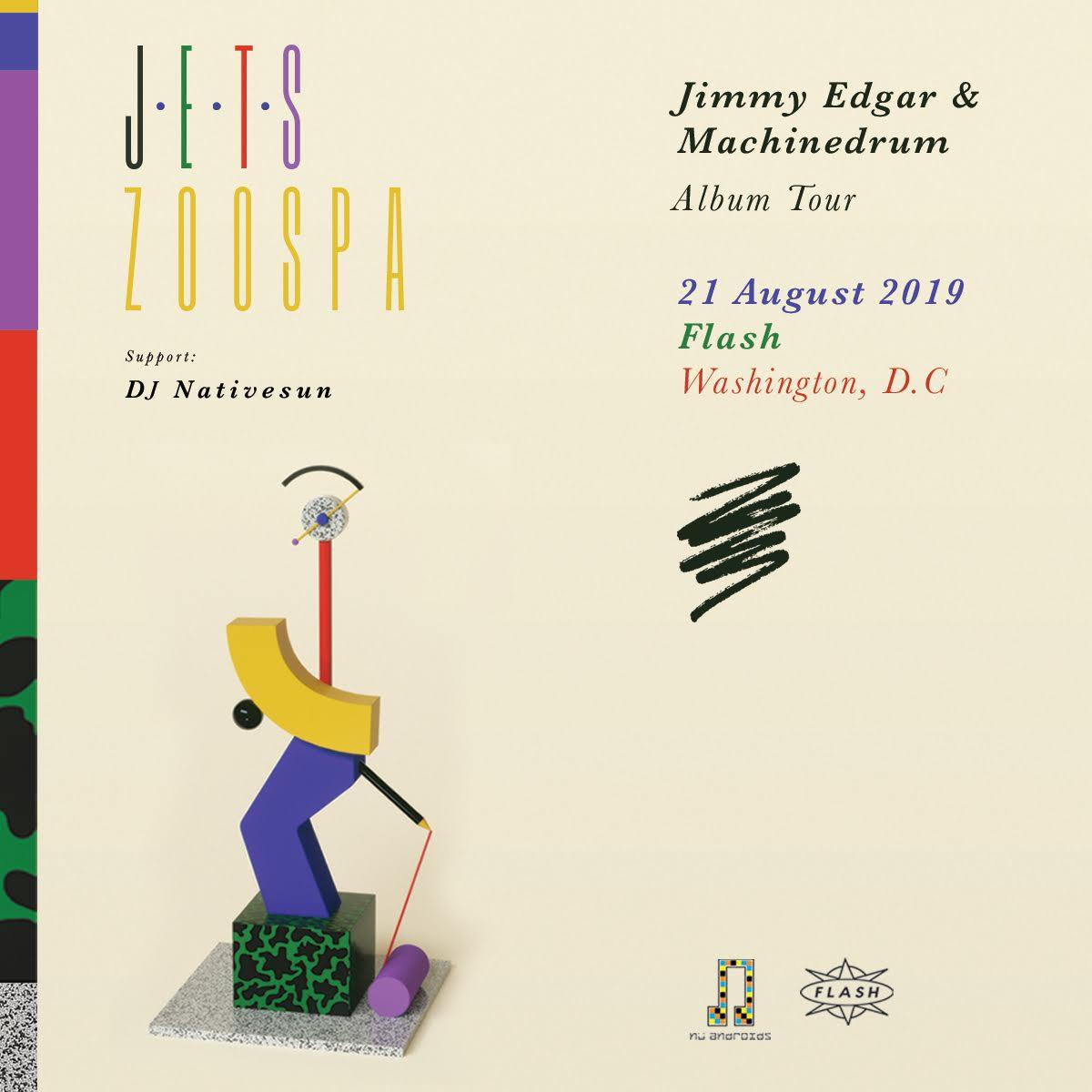 JETS [Jimmy Edgar + Machinedrum] event thumbnail