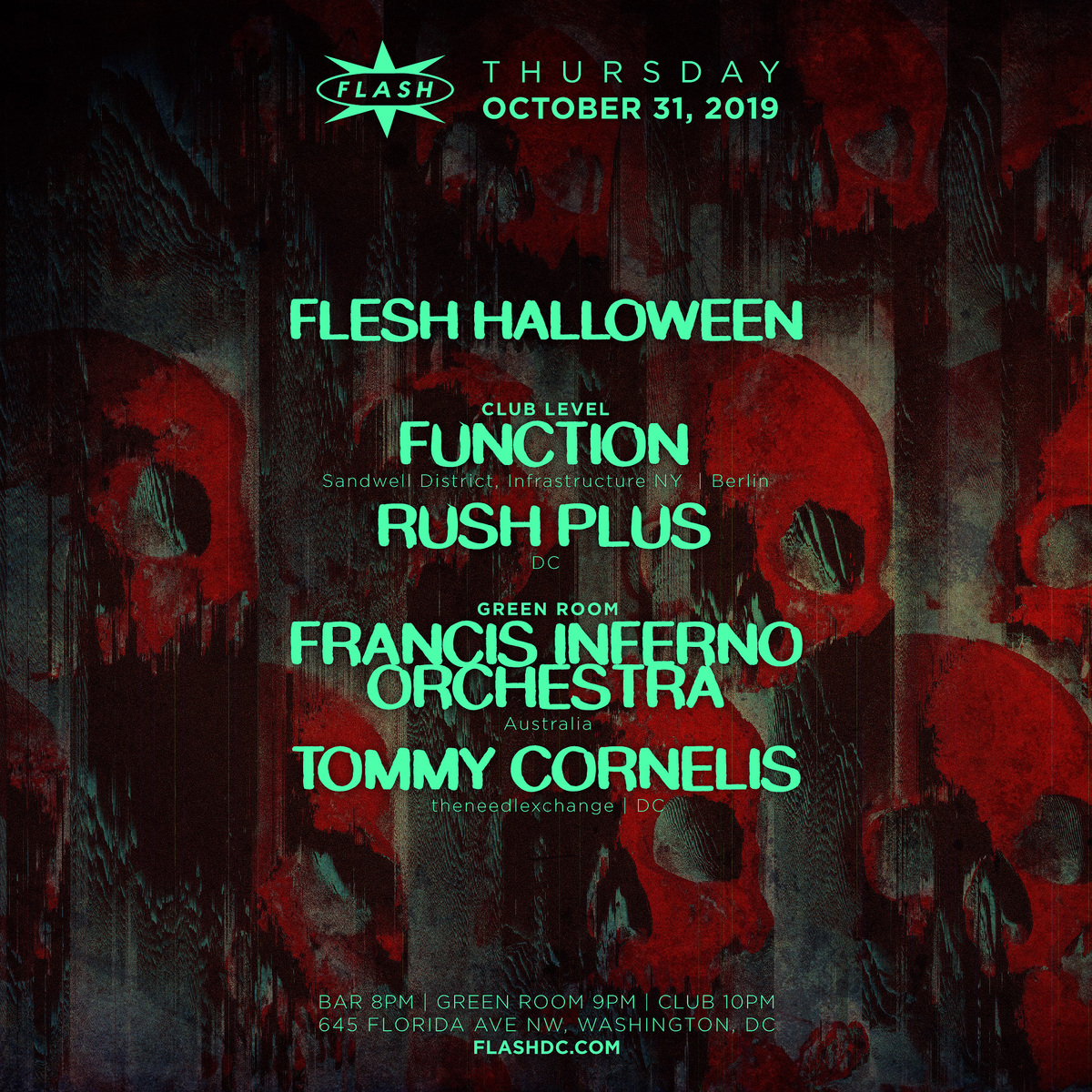 FLESH Halloween event thumbnail