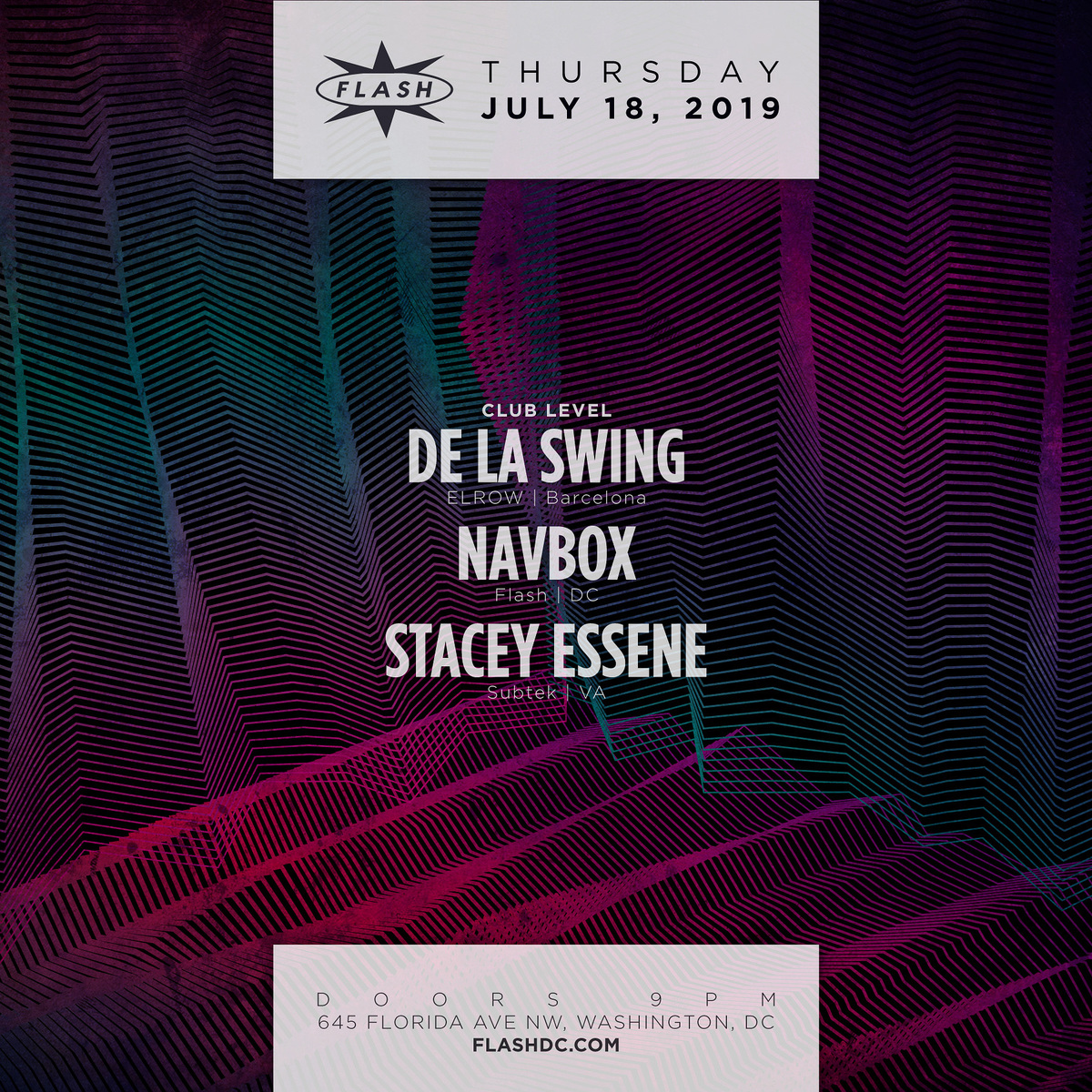 De La Swing - Navbox - Stacey Essene event thumbnail