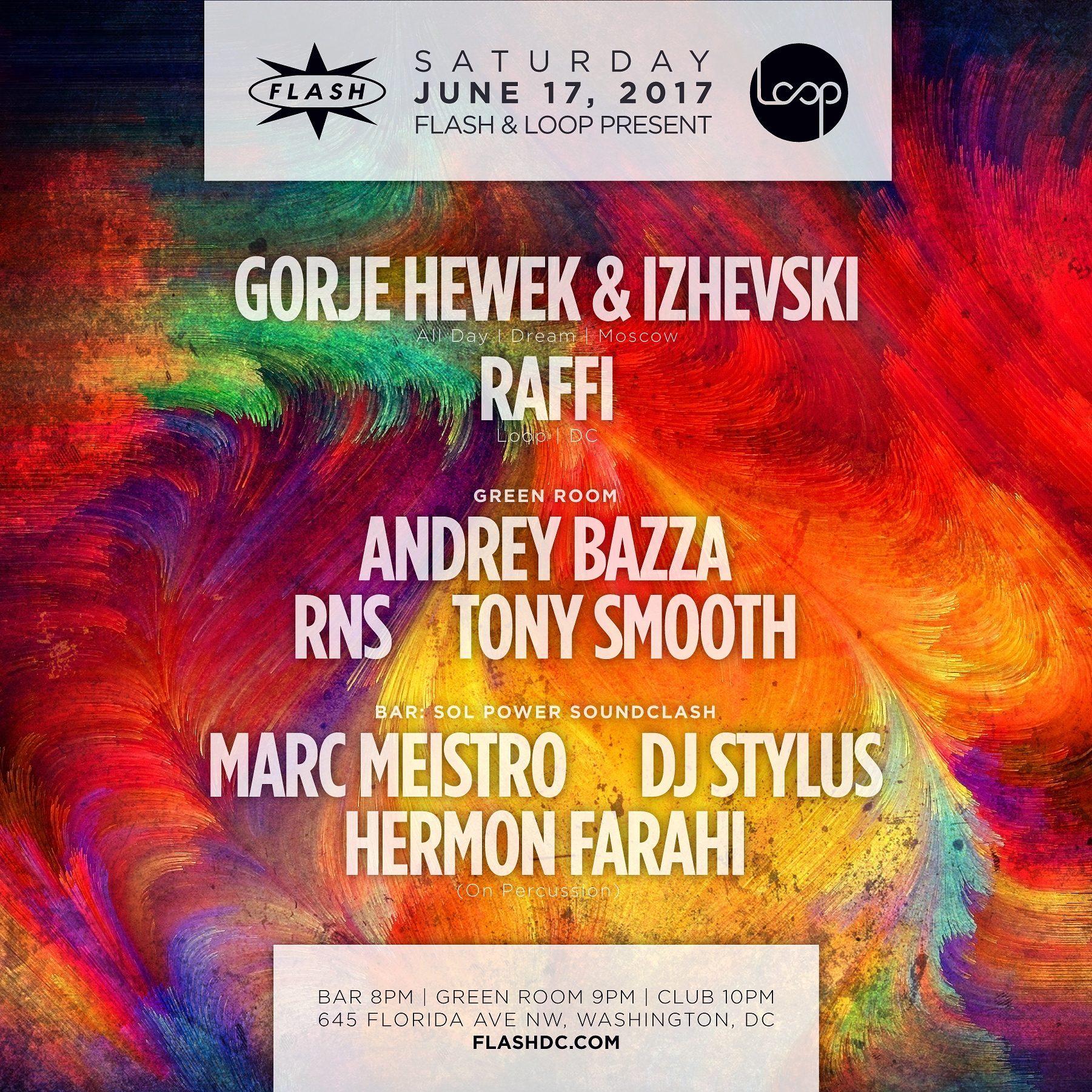 Flash & Loop present: Gorje Hewek & Izhevski ( All Day I Dream | Moscow ) / Raffi / Sol Power Sound Clash event thumbnail