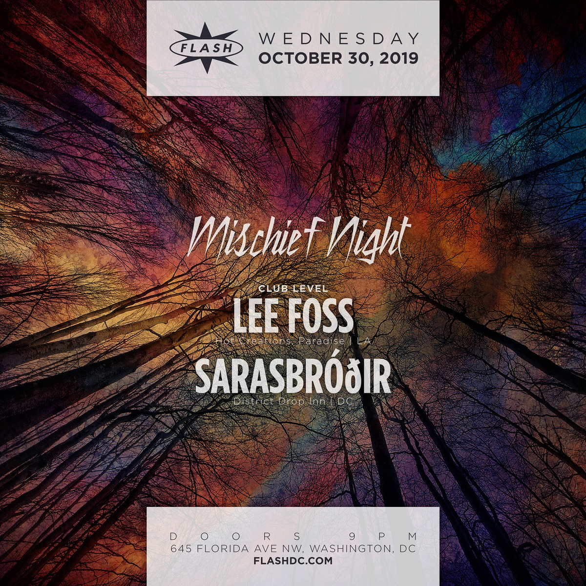 Mischief Night: Lee Foss event thumbnail