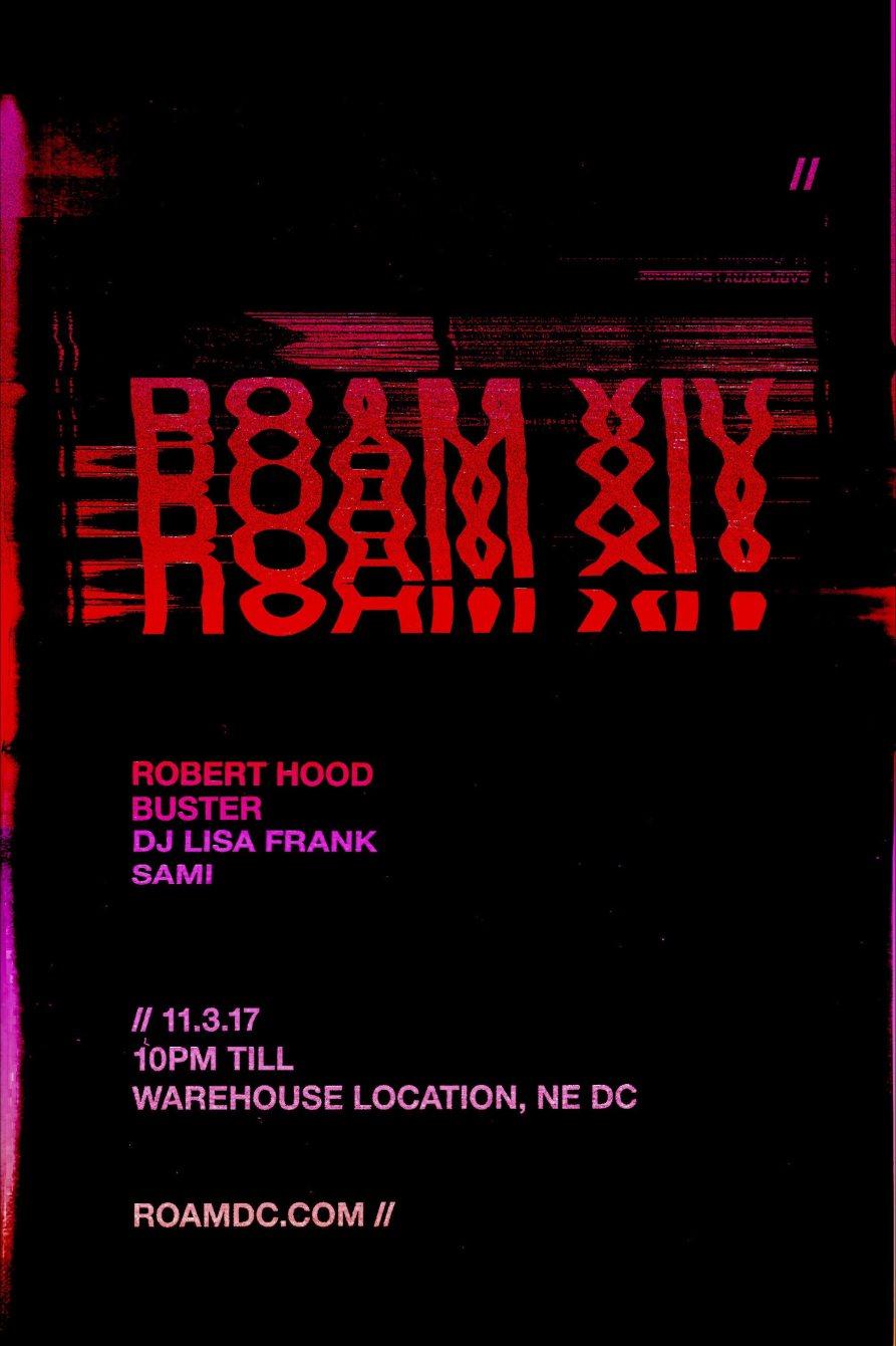 ROAM XIV: Robert Hood event thumbnail