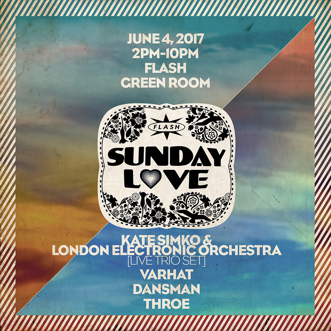 Sunday Love: Kate Simko & the London Electronic Orchestra /  Varhat / Dansman / Throe event thumbnail