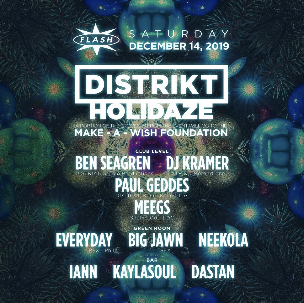 DISTRIKT Presents: Holidaze Fundraiser event thumbnail