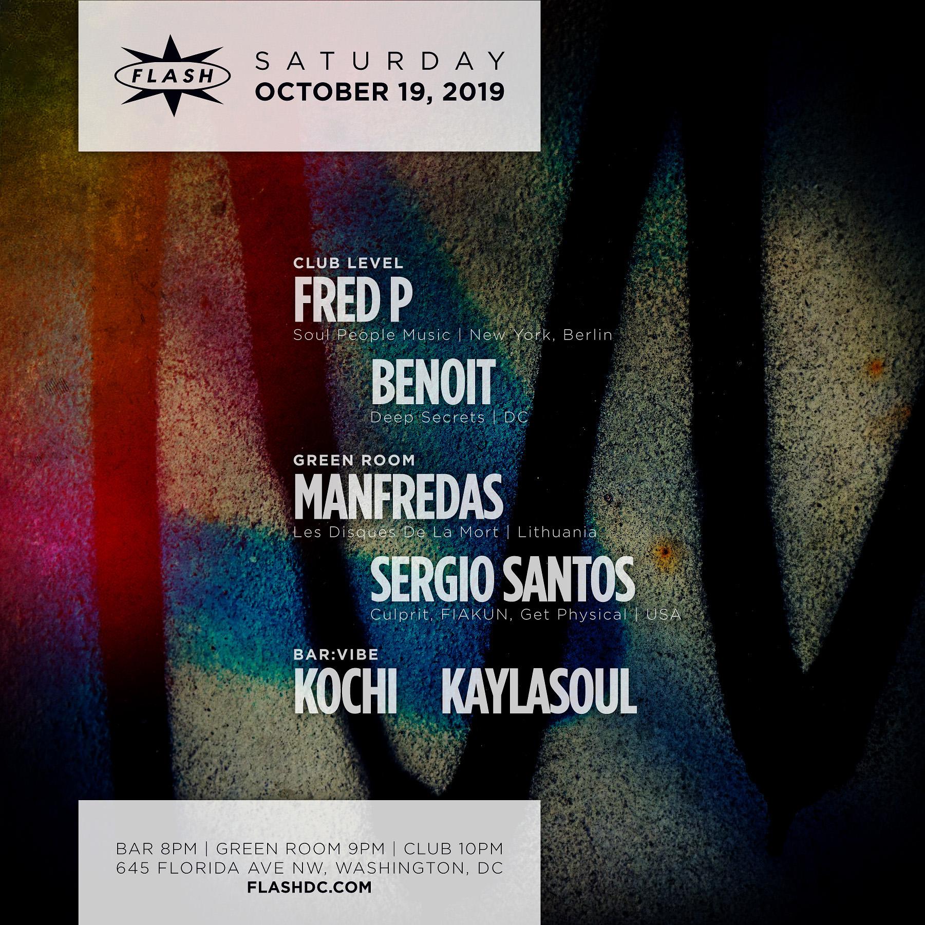 Fred P - Manfredas - Sergio Santos - Kochi - KaylaSoul event thumbnail