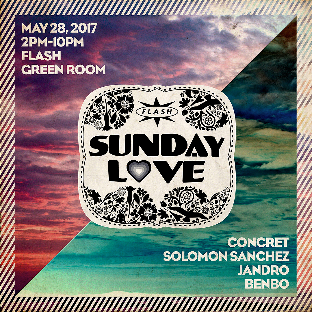 Sunday Love: Concret / Solomon Sanchez / Jandro / Benbo event thumbnail