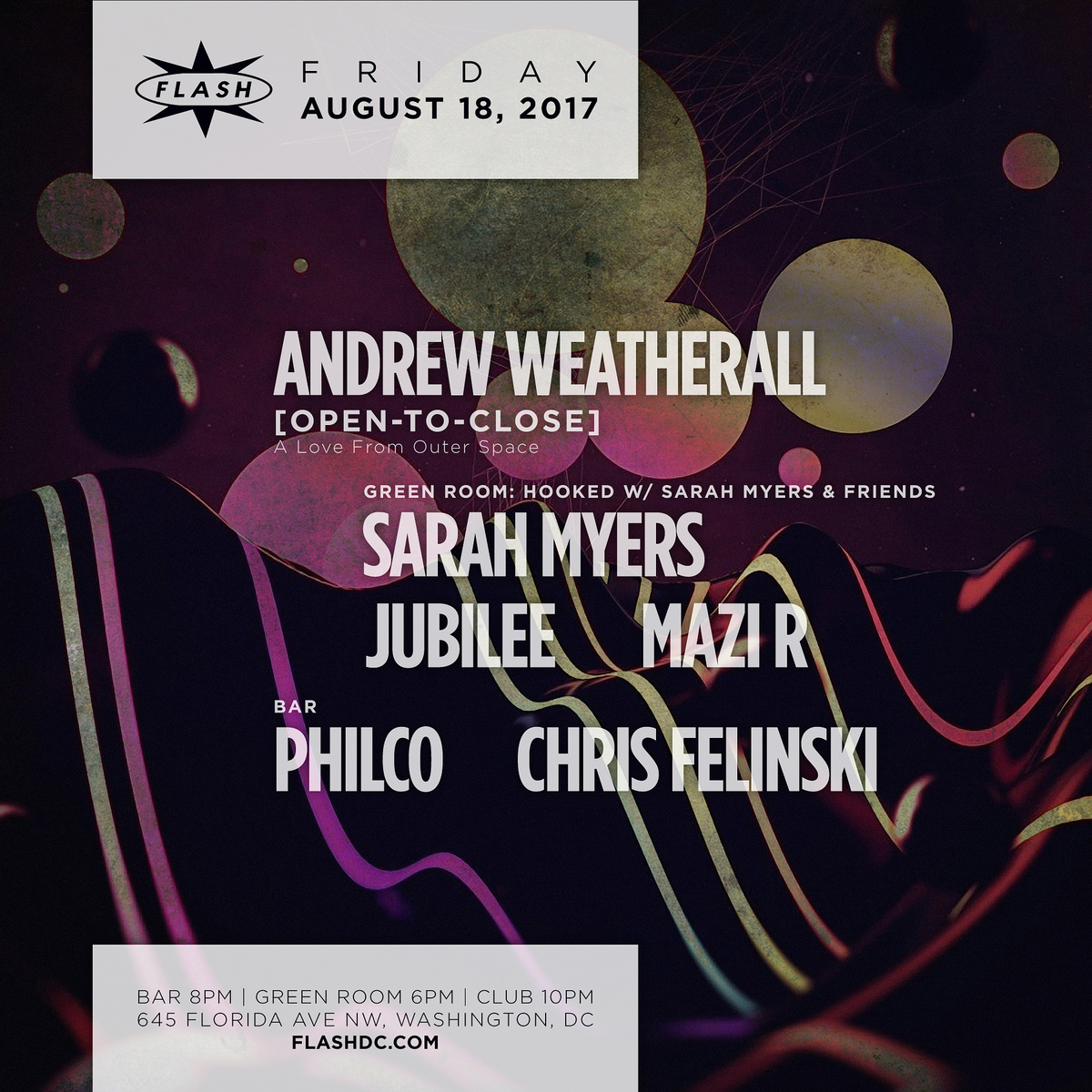 Andrew Weatherall  event thumbnail