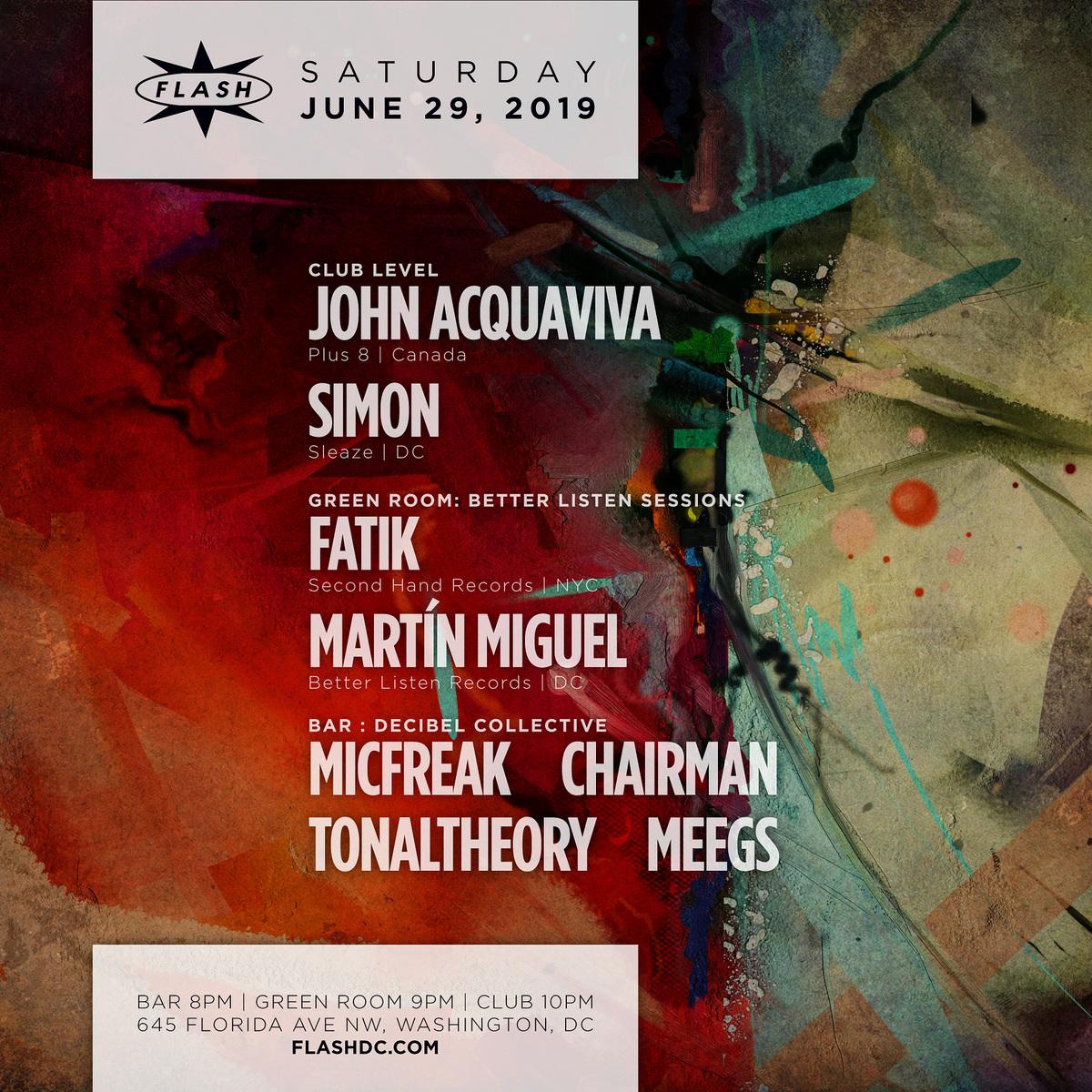 John Acquaviva - Simon event thumbnail
