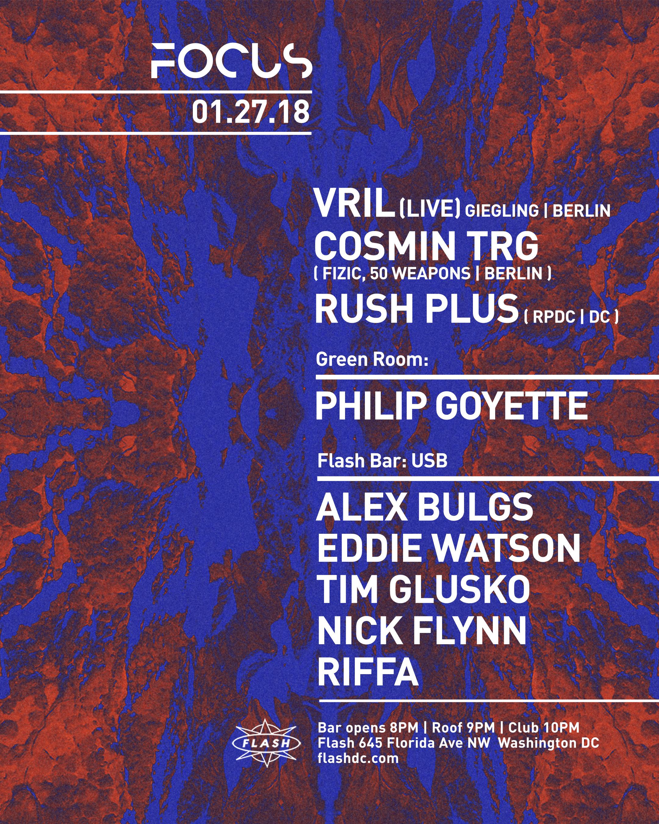 FOCUS: Vril [LiVE] - Cosmin TRG event thumbnail
