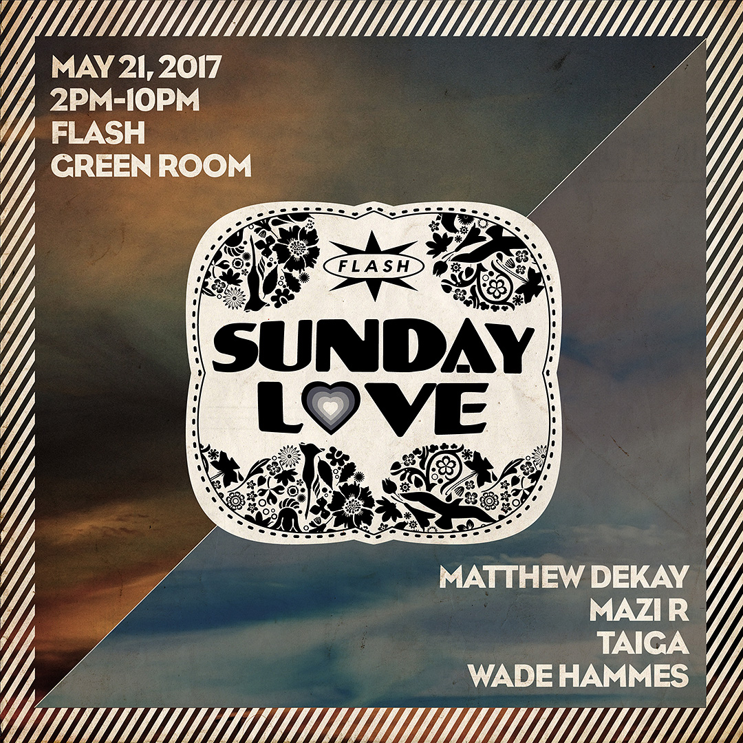 Sunday Love: Matthew Dekay (Für de Liebe, All Day I Dream) / Mazi R / Taiga / Wade event thumbnail
