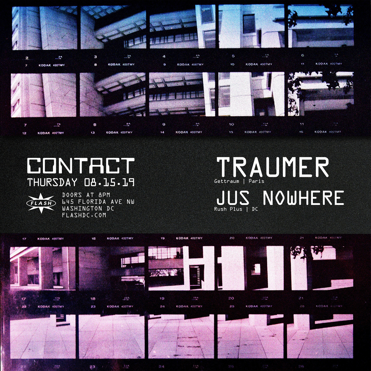 CONTACT: Traumer event thumbnail