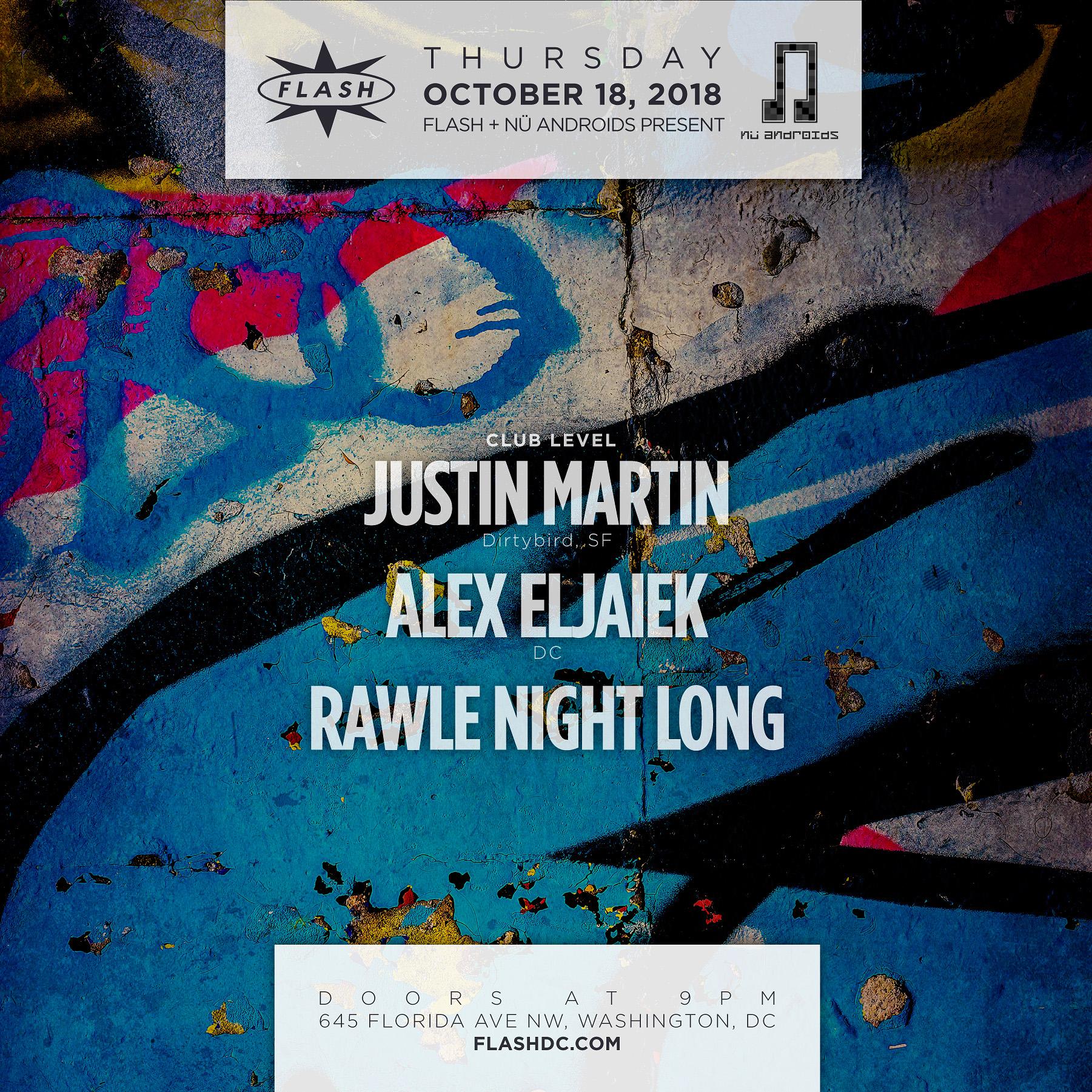 Justin Martin event thumbnail