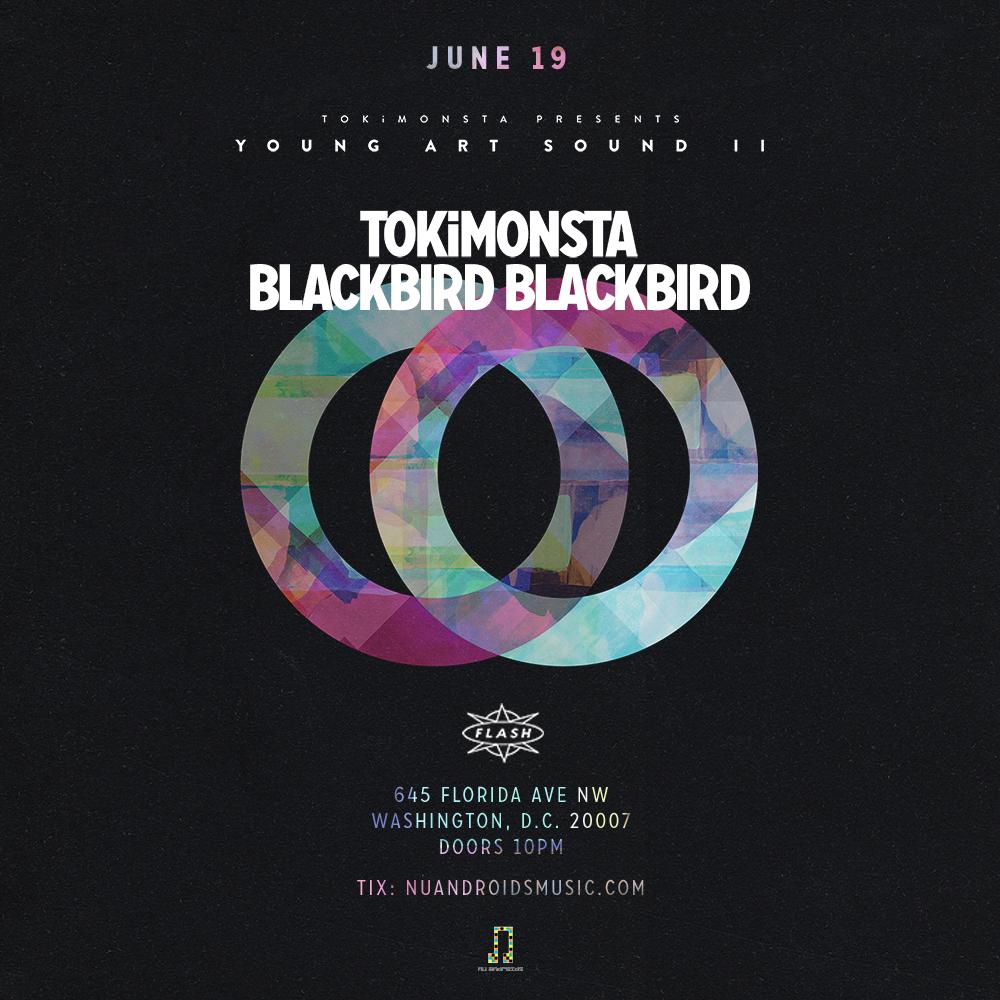 Young Art Sound II: TOKiMONSTA, Blackbird Blackbird event thumbnail