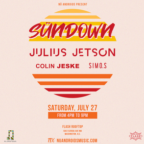 SünDown feat. Julius Jetson w/ Colin Jeske + Simo.S event thumbnail