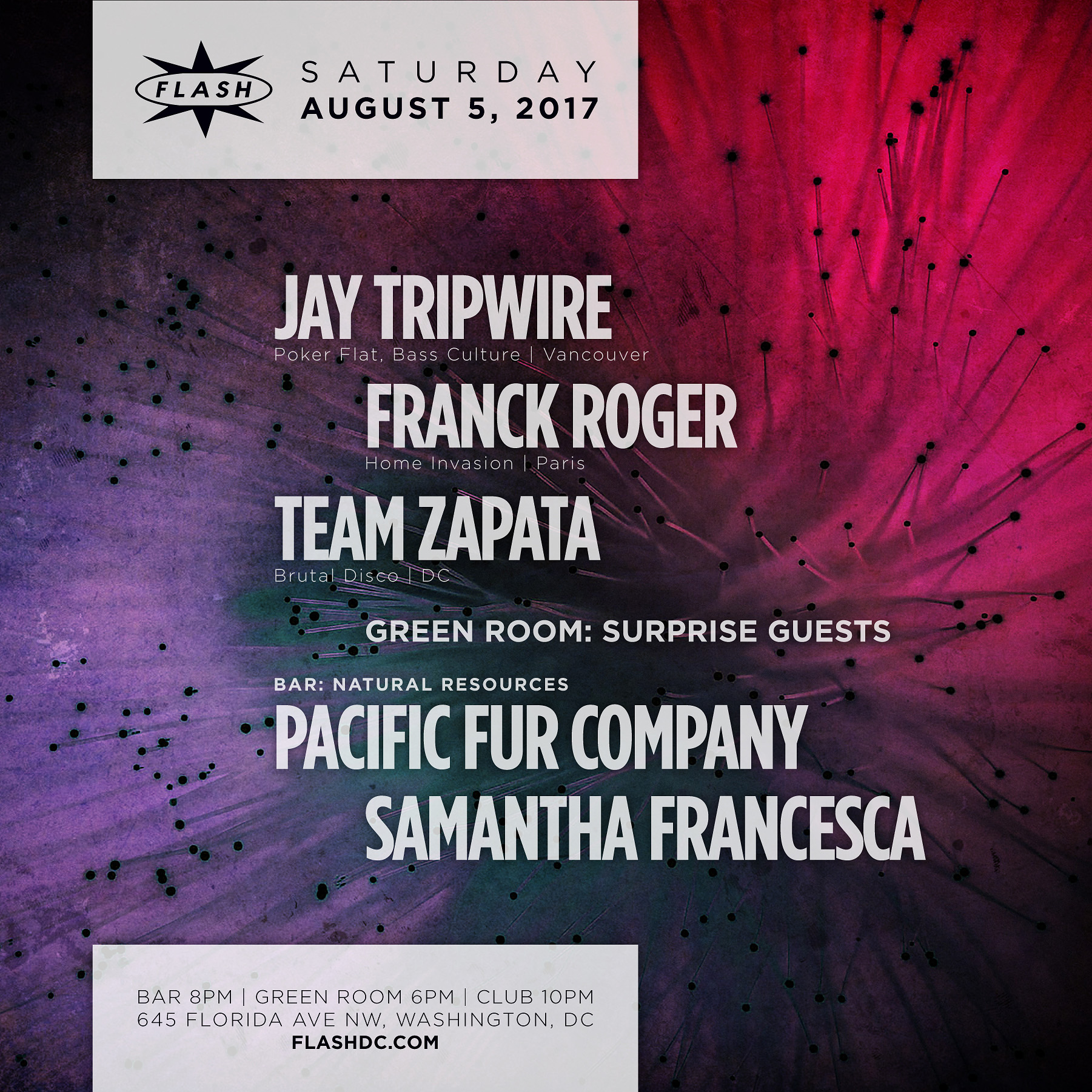 Jay Tripwire - Franck Roger - Team Zapata - Surprise Guests - Natural Resources event thumbnail
