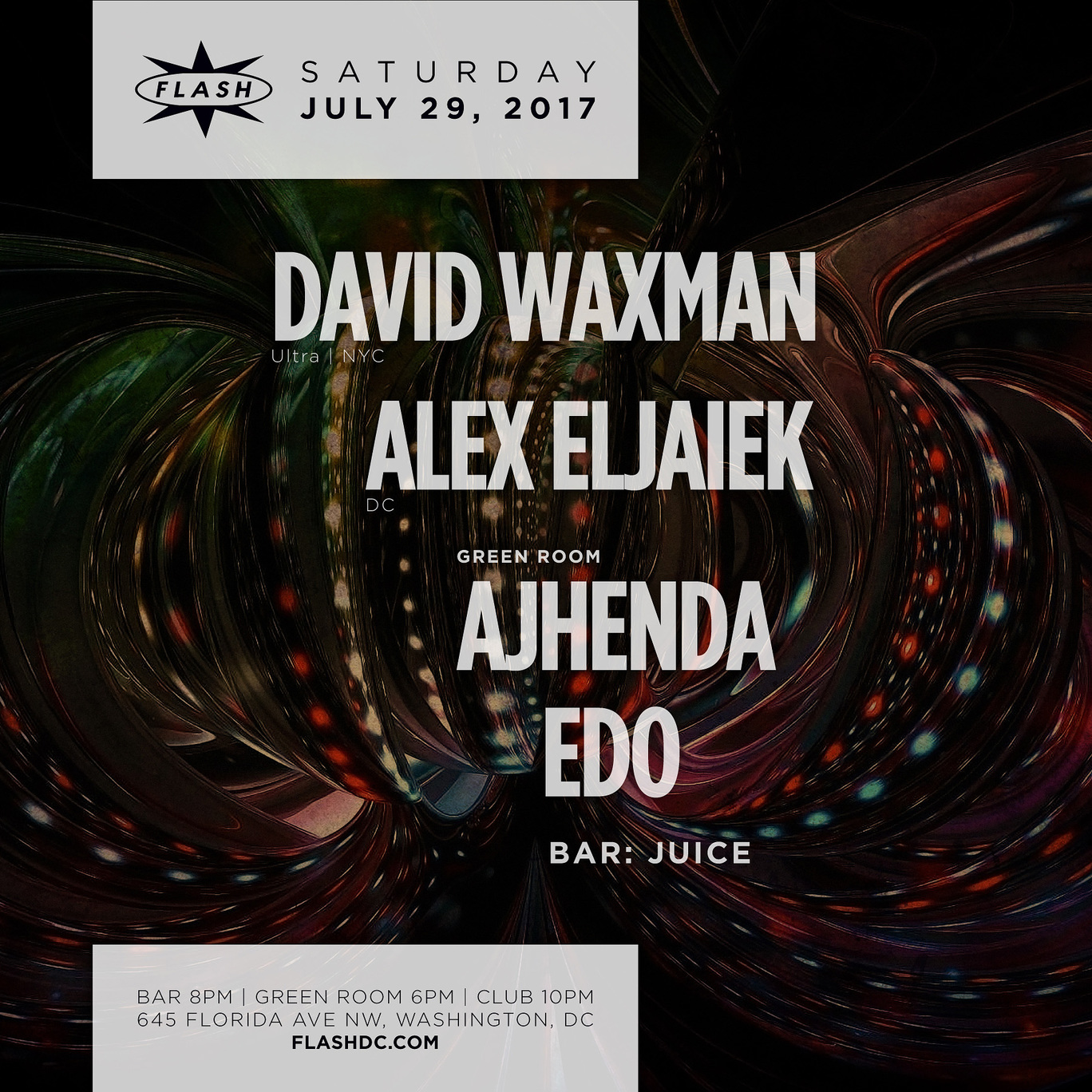 David Waxman - Alex Eljaiek - Ajhenda - Edo - JUICE event thumbnail