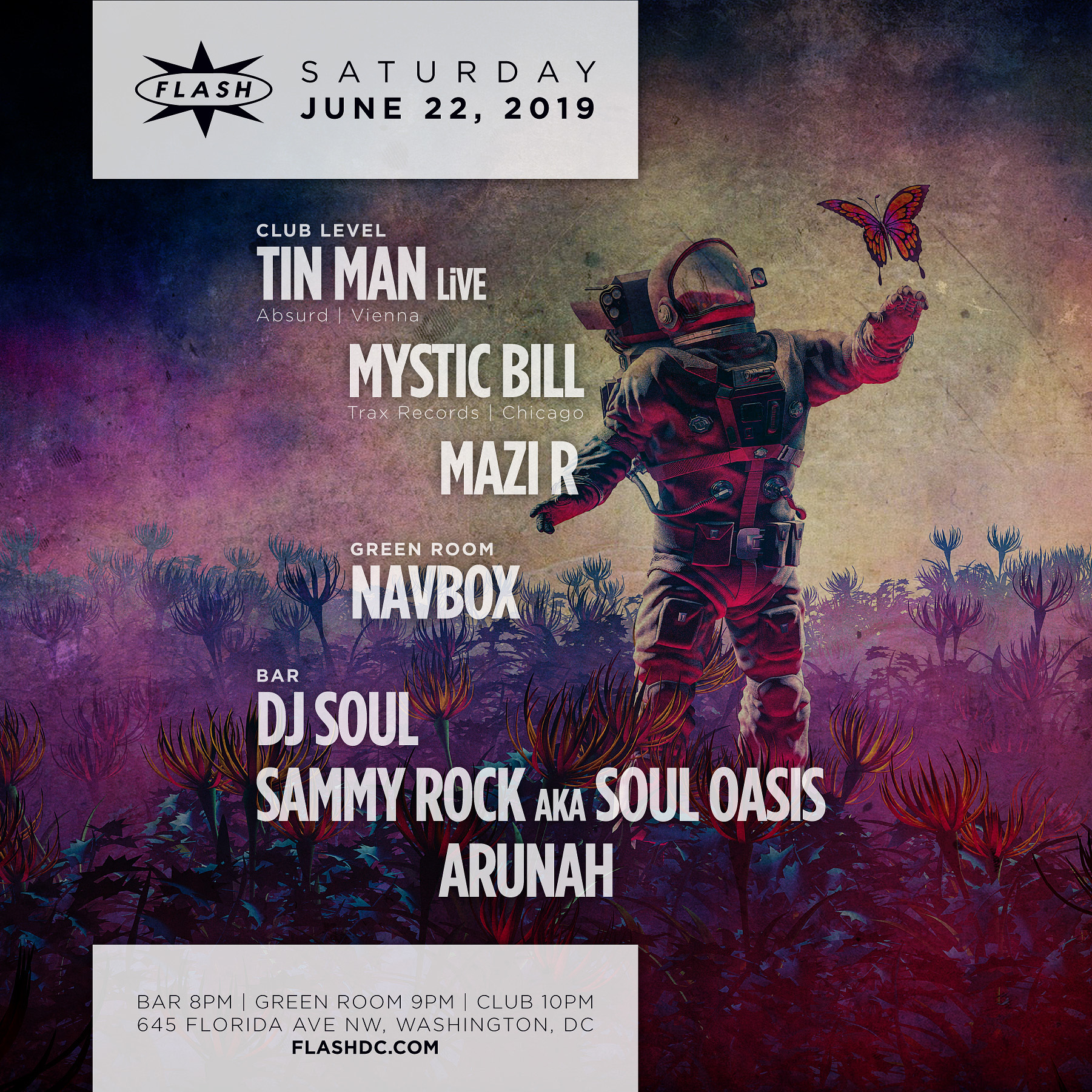 Tin Man LiVE- Mystic Bill event thumbnail