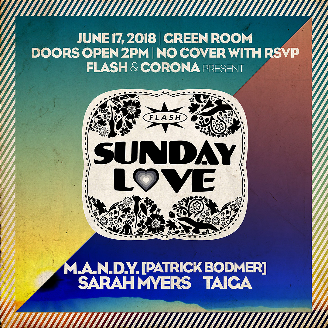 Sunday Love: M.A.N.D.Y. [Patrick Bodmer] event thumbnail