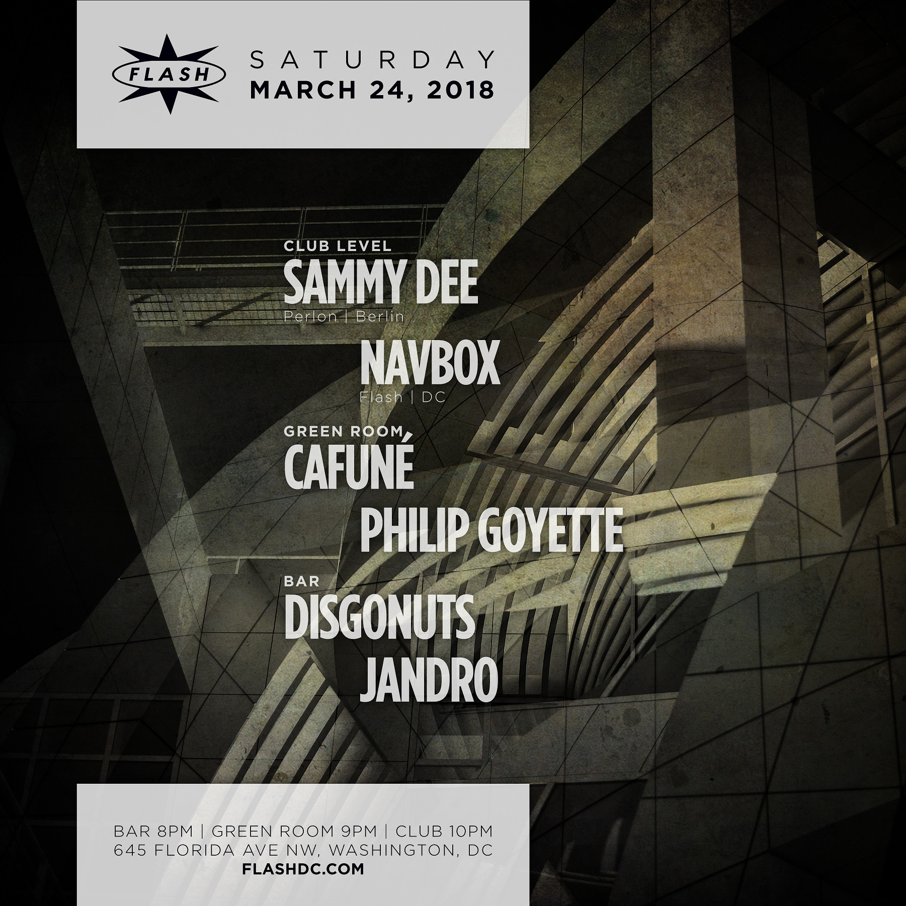 Sammy Dee - Navbox event thumbnail