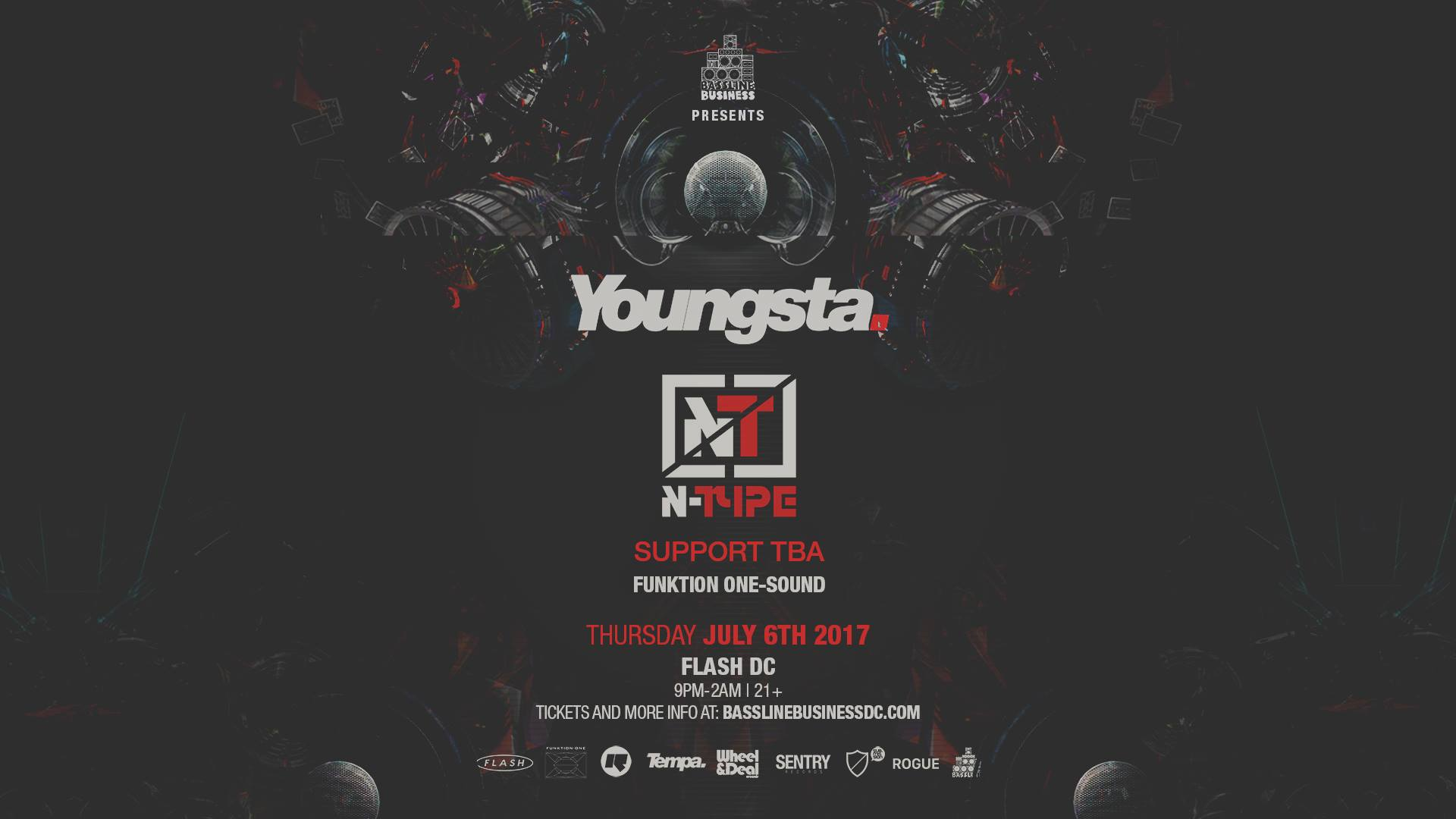 Bassline Business w/ Youngsta & N-Type event thumbnail