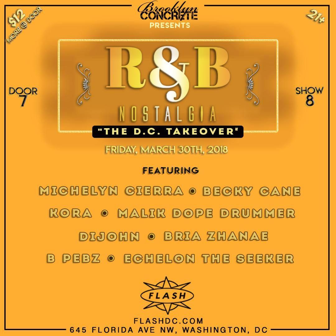 R&B Nostalgia: The DC Takeover event thumbnail
