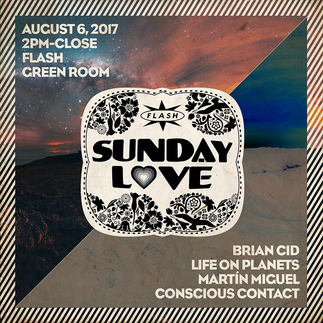 Sunday Love: Brian Cid - Life on Planets - Martín Miguel - Conscious Contact event thumbnail