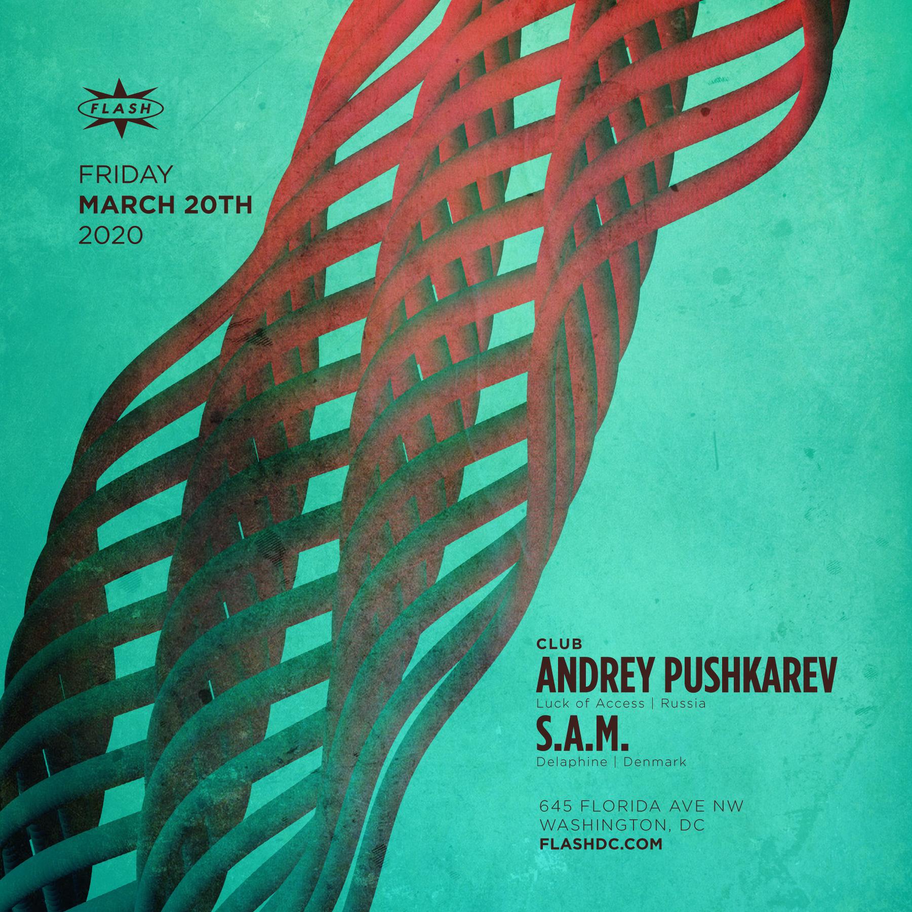 Andrey Pushkarev - S.A.M. event thumbnail