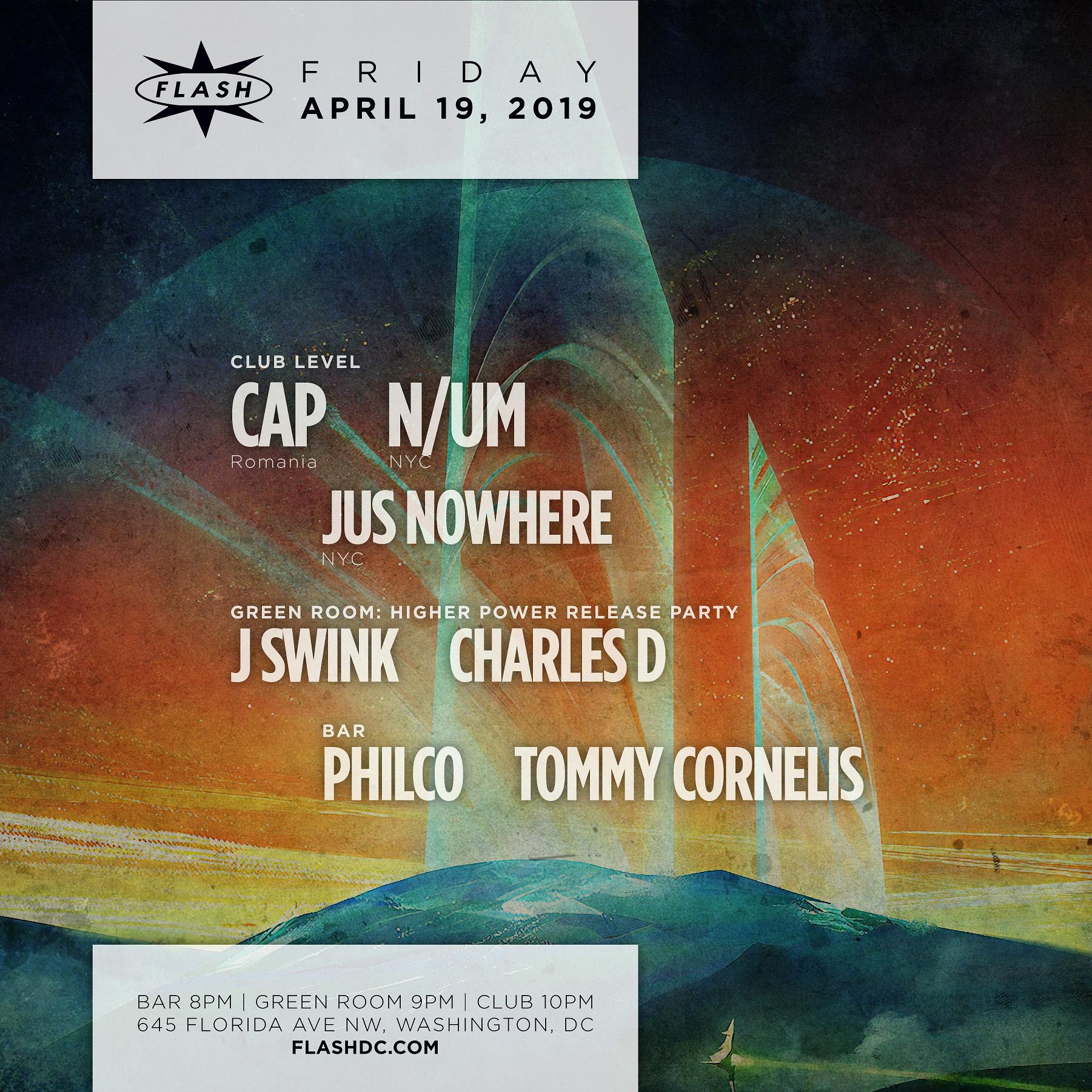 Cap - N/UM - Jus Nowhere event thumbnail