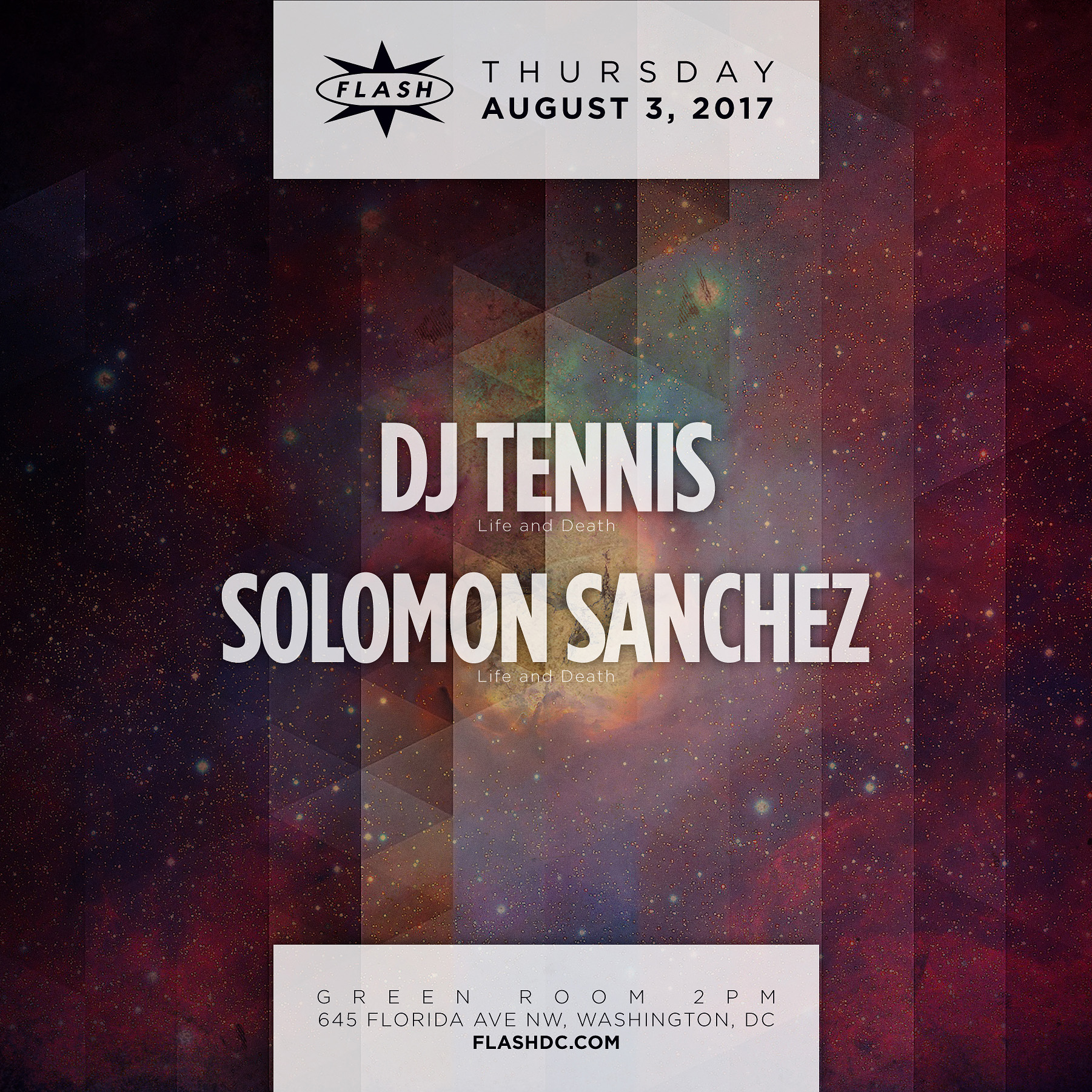 DJ Tennis - Solomon Sanchez event thumbnail