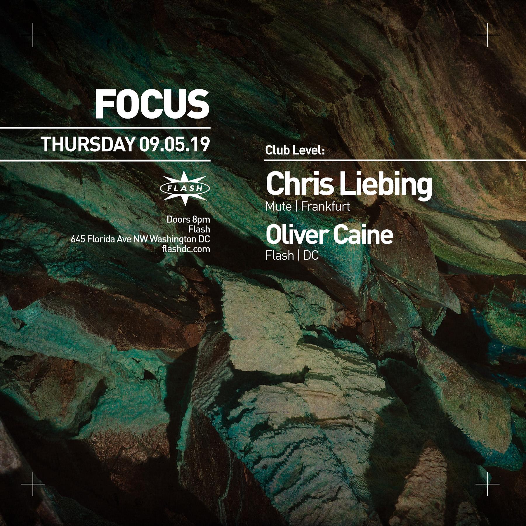 FOCUS: Chris Liebing event thumbnail