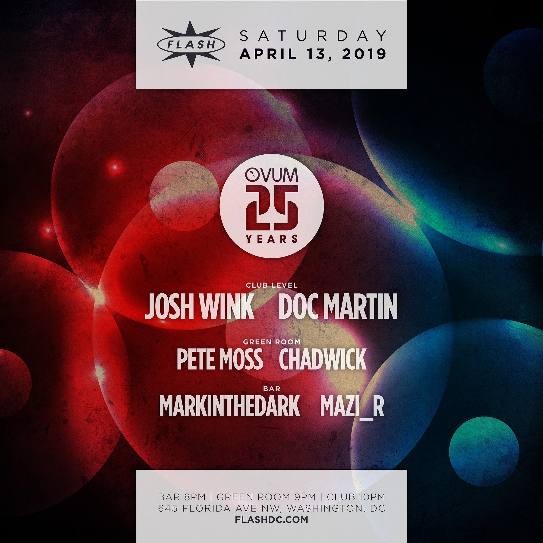 25 Years of Ovum: Josh Wink, Doc Martin, Pete Moss, Chadwick And More event thumbnail