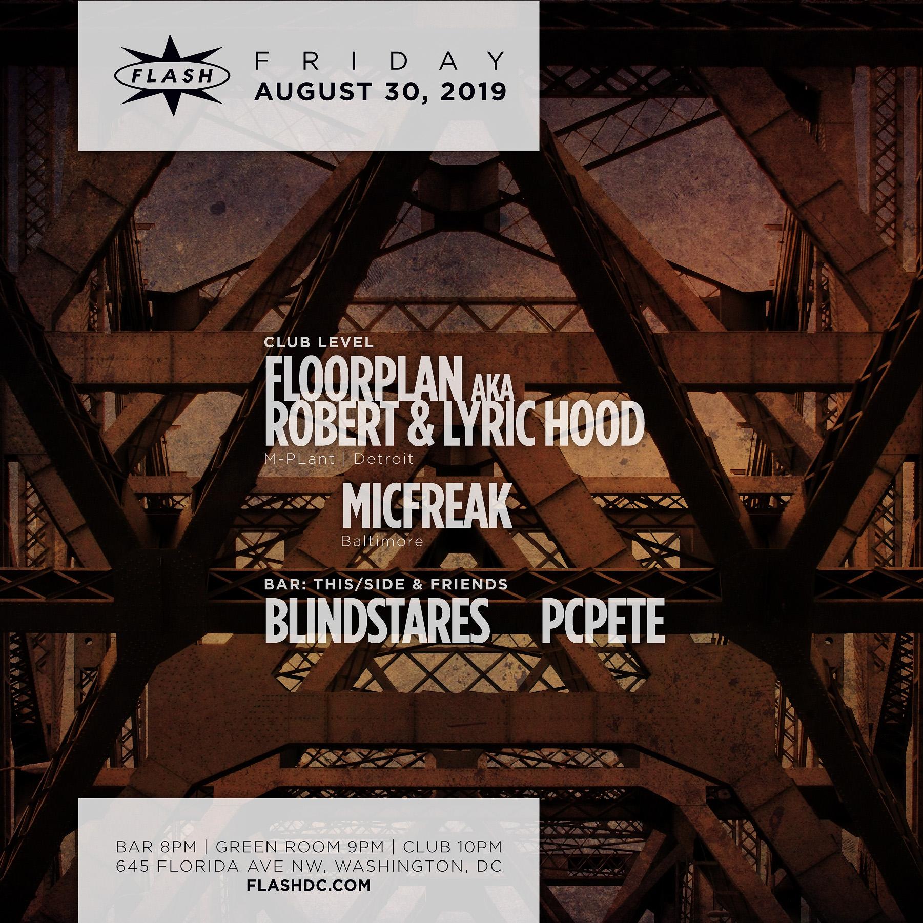 FLOORPLAN aka Robert & Lyric Hood LIVE event thumbnail