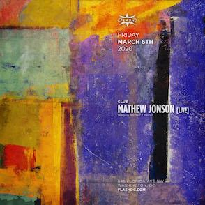 Mathew Jonson  event thumbnail