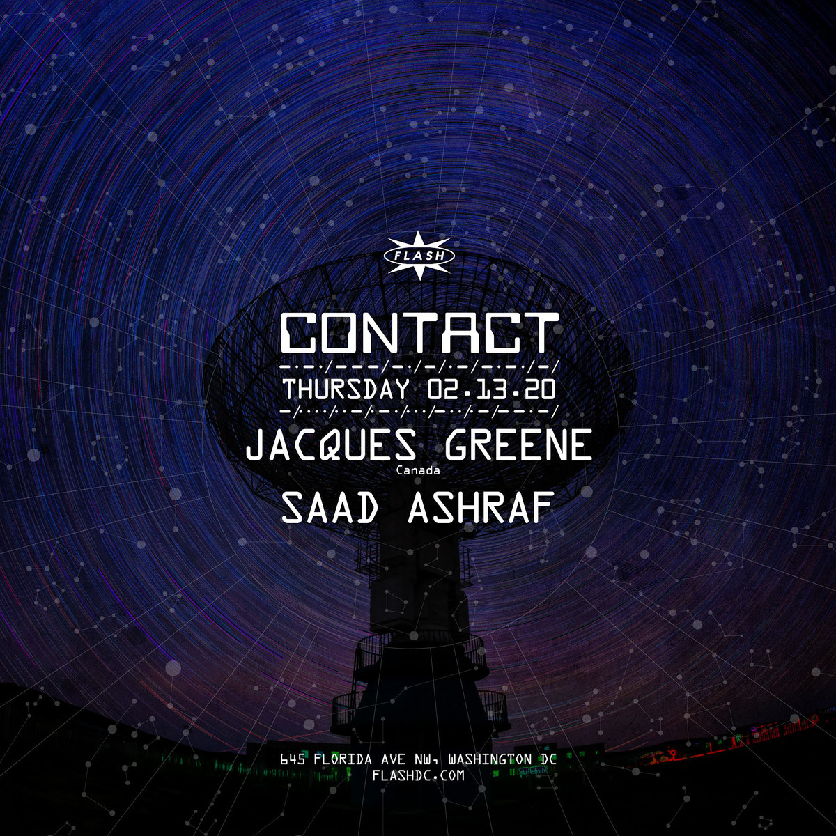 CONTACT: Jacques Greene event thumbnail
