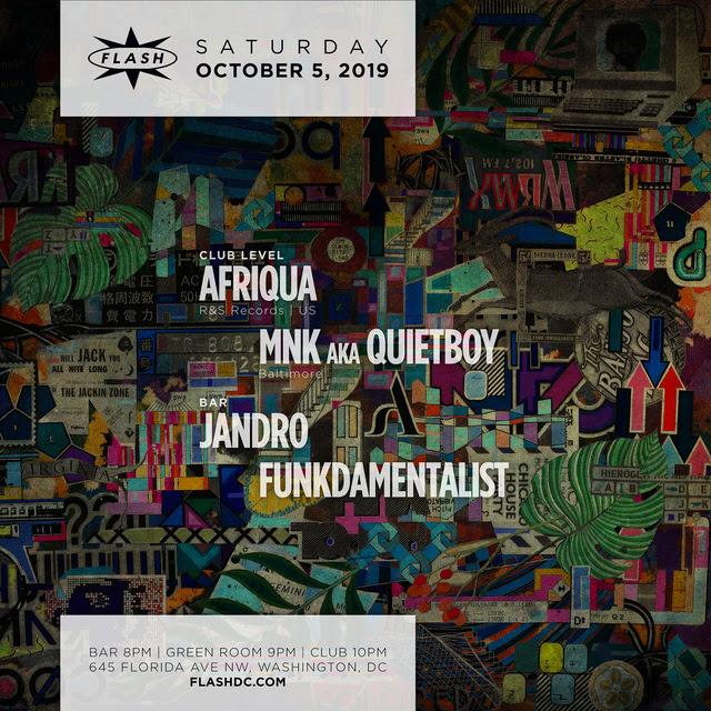 """Afriqua """"COLORED"""" LP Release Tour event thumbnail"""