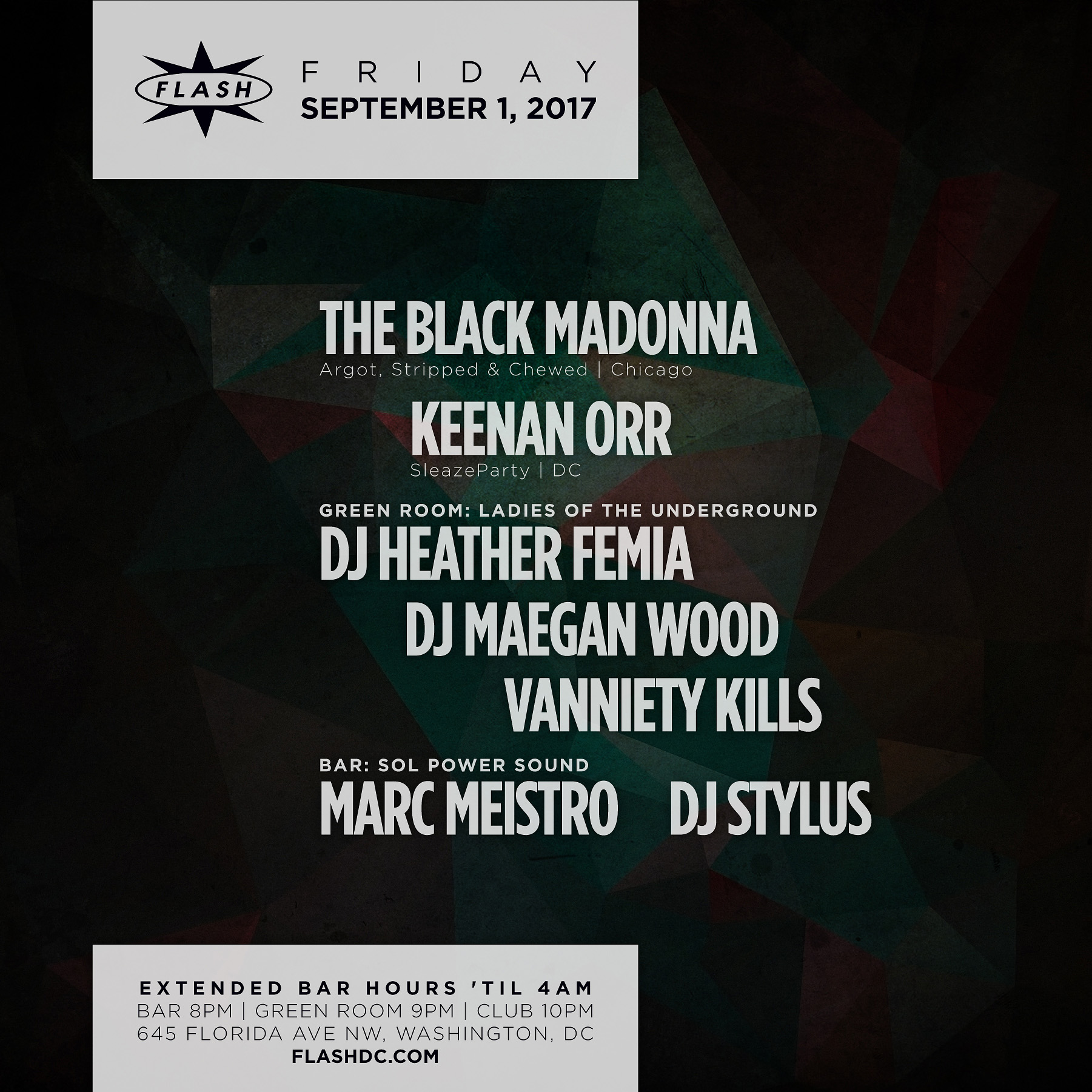 Labor Day Kickoff with The Black Madonna event thumbnail